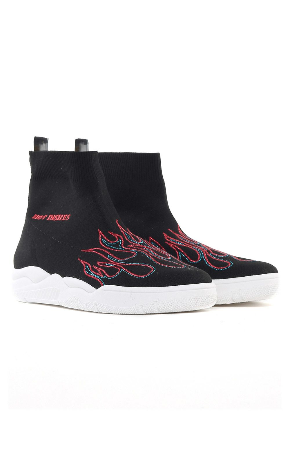 Flame stretch-knit sock sneakers Chiara Ferragni lgienkbn