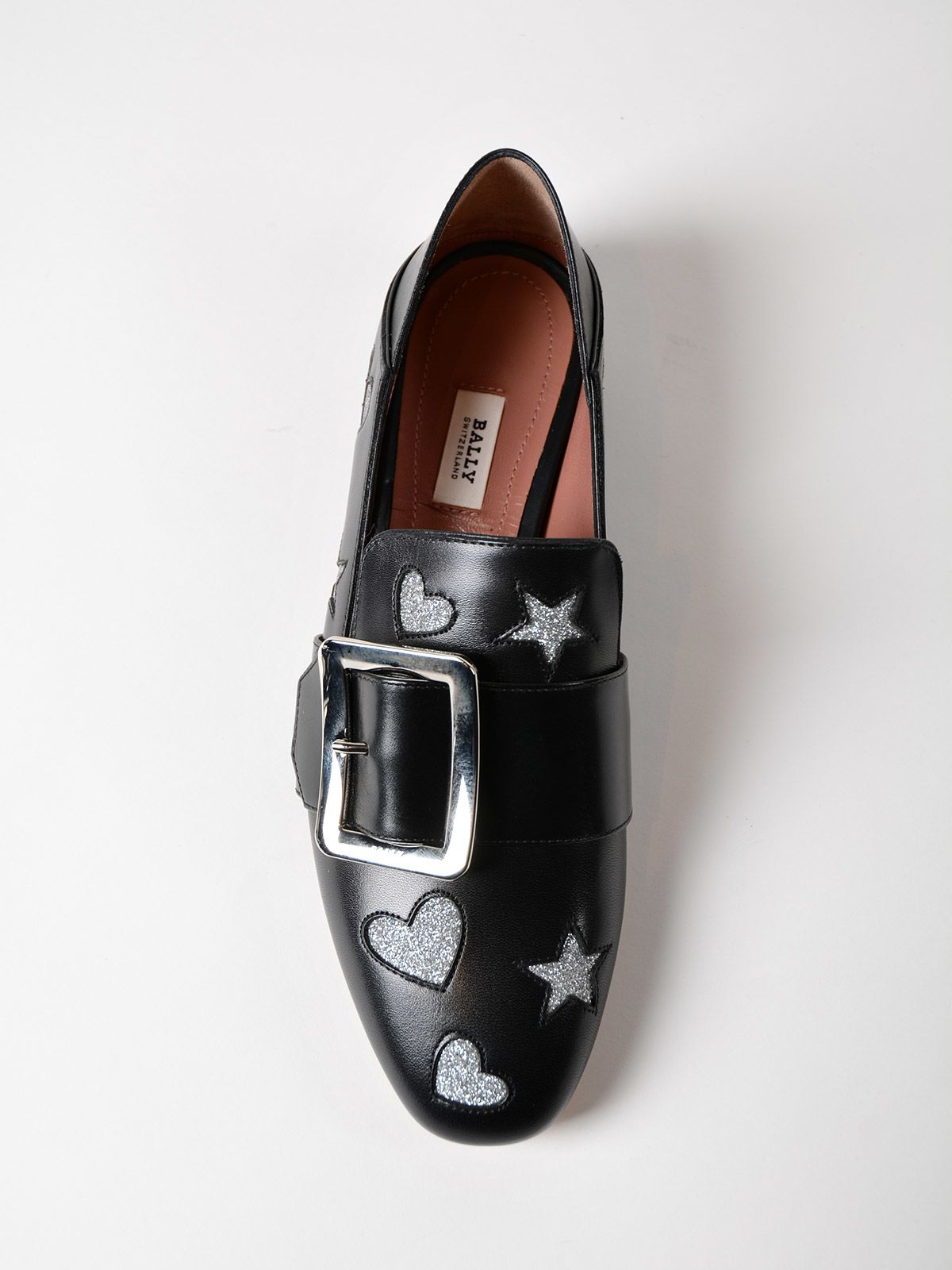 Bally Janelle hearts loafers buy cheap huge surprise PkD0M