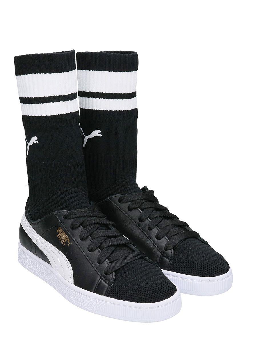 Puma Basket Sock Evoknit Wn White Black Precio Barato Precio Al Por Mayor lVIdj1jgA