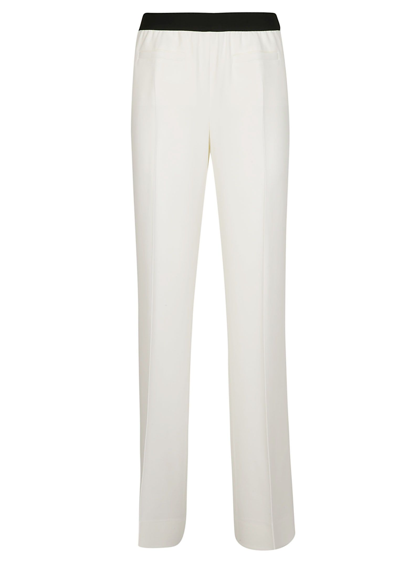 NEWYORKINDUSTRIE New York Industrie Classic Trousers in Panna