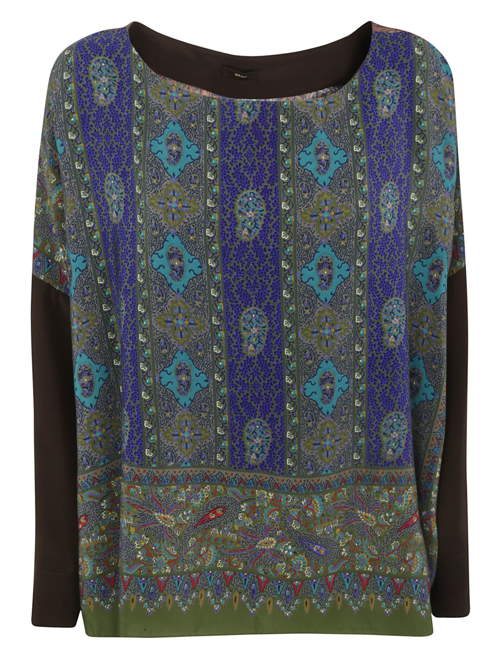 outlet store 468da a4b54 Printed Top, Blue