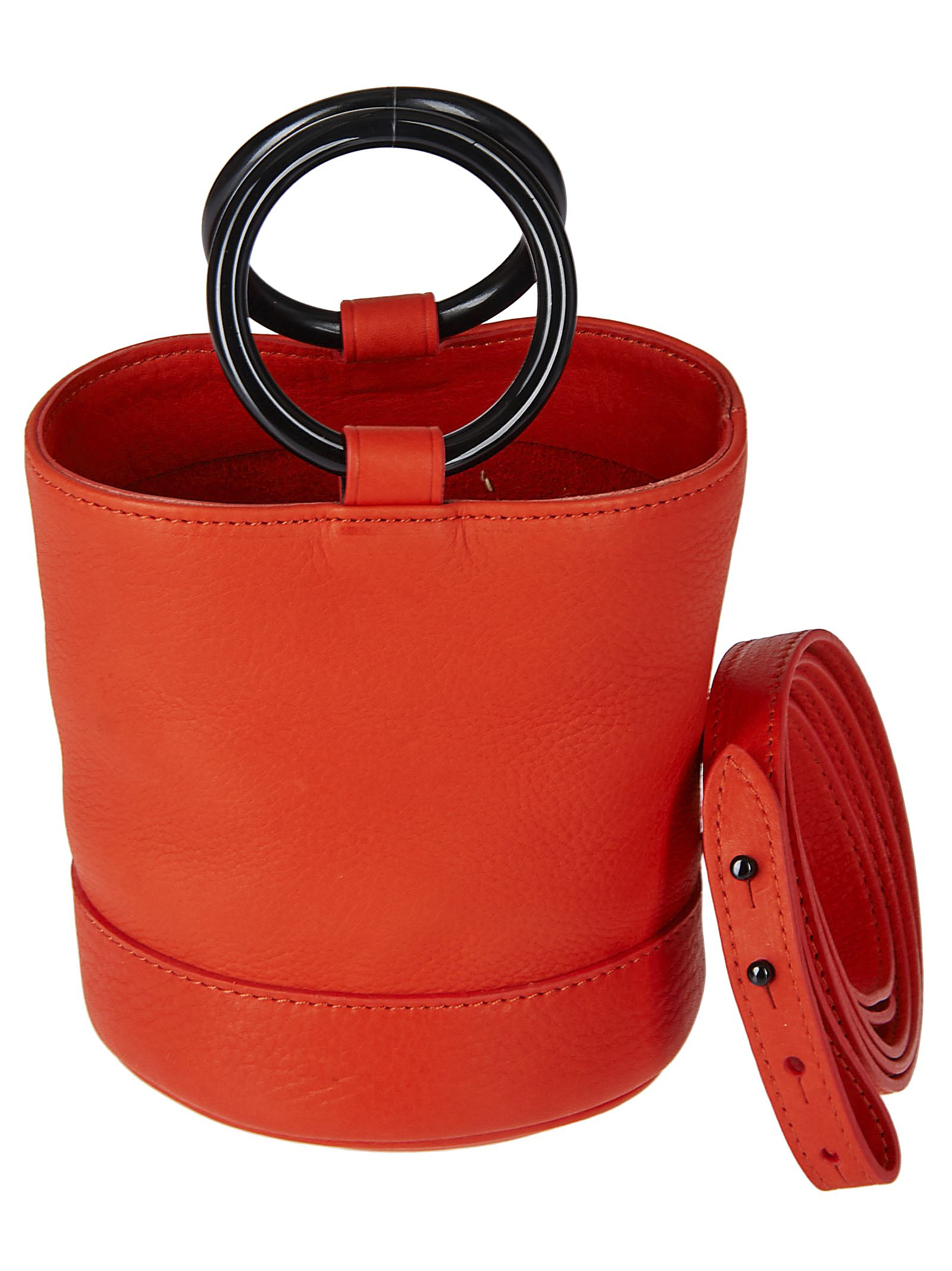 S801S RED LEATHER BONSAI 15 CM BAG