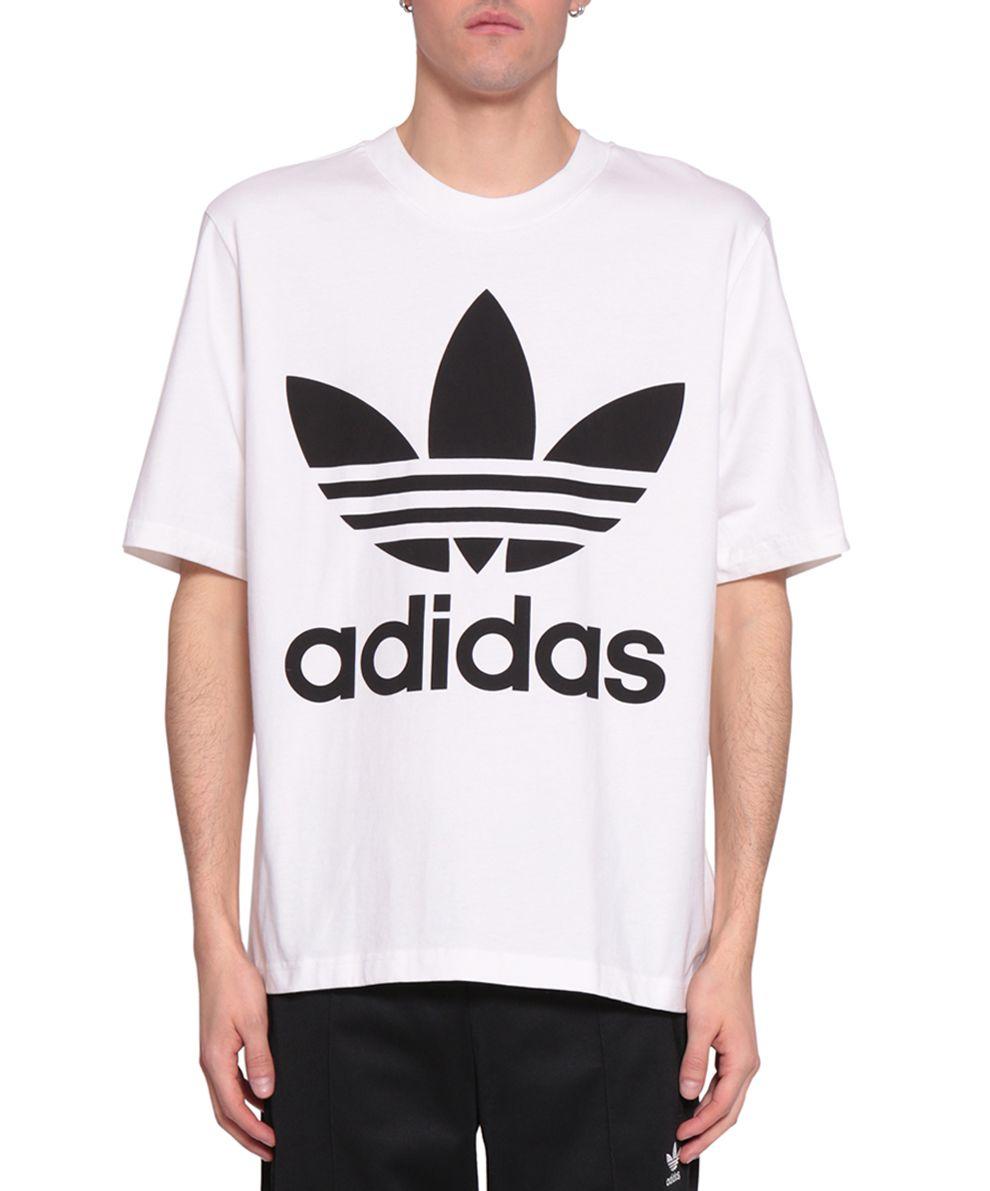 Adidas Originals Trefoil Cotton T-shirt