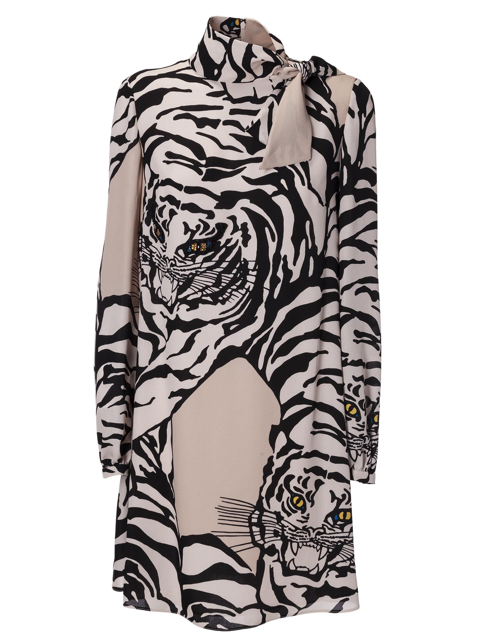 5da5f2229b Valentino Tiger Print Dress