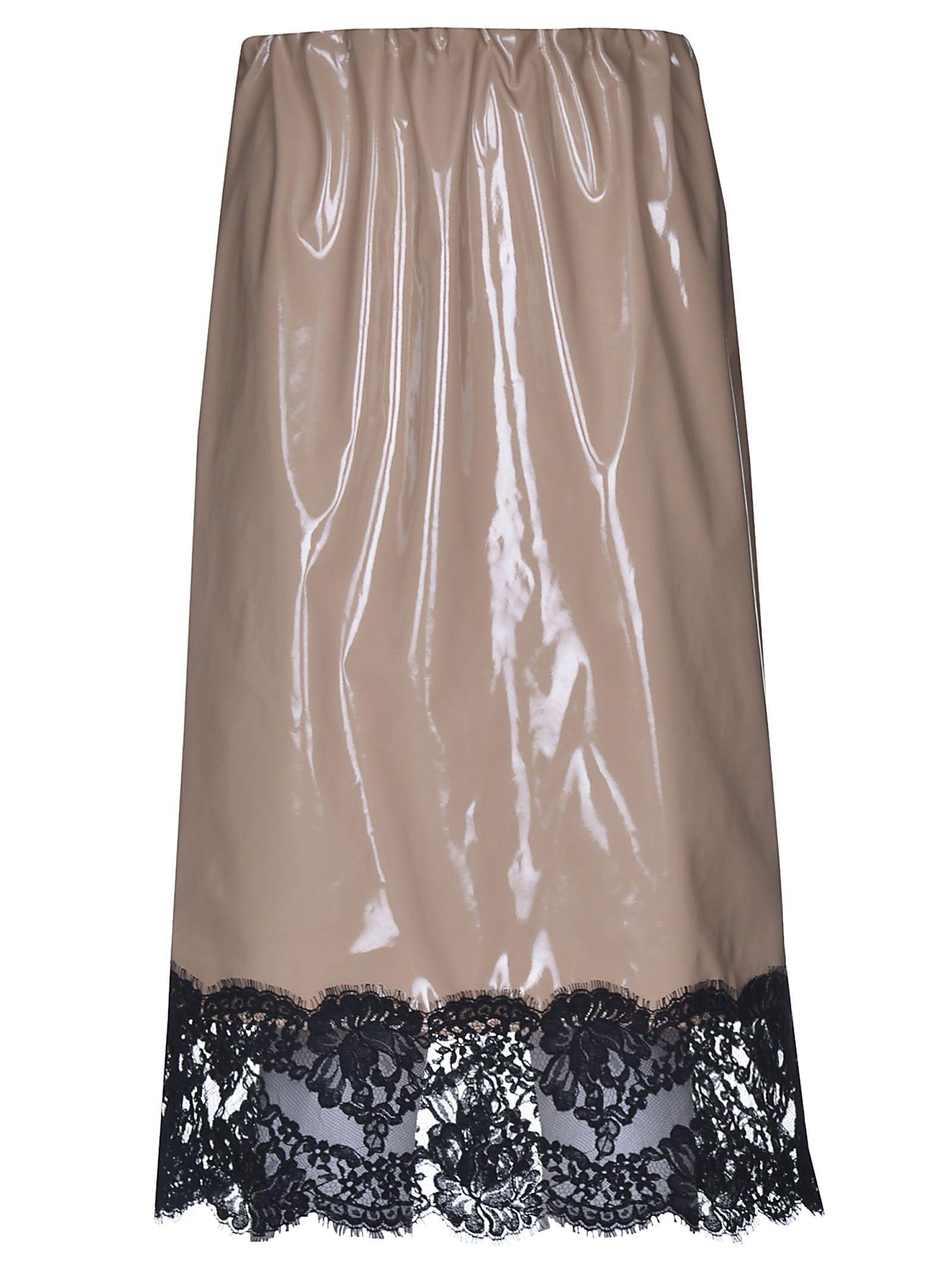 n.21 -  Vinyl Laced Skirt