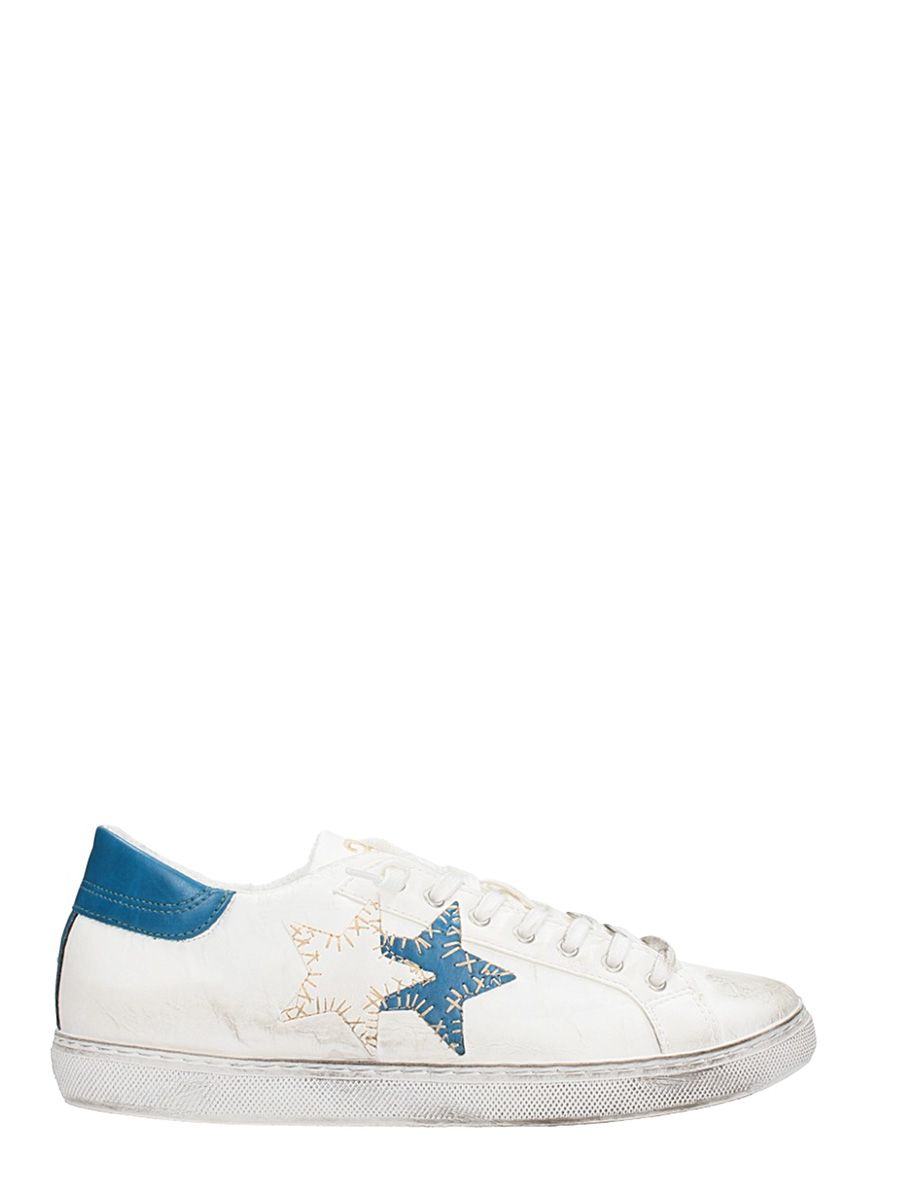 2star male 2star low star white leather sneakers