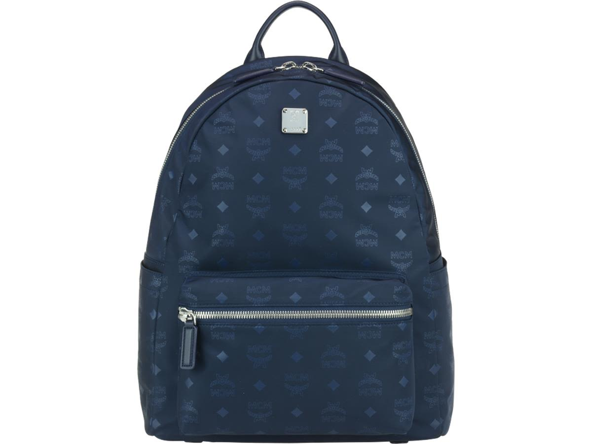 MCM DIETER MONOGRAM NYLON BACKPACK