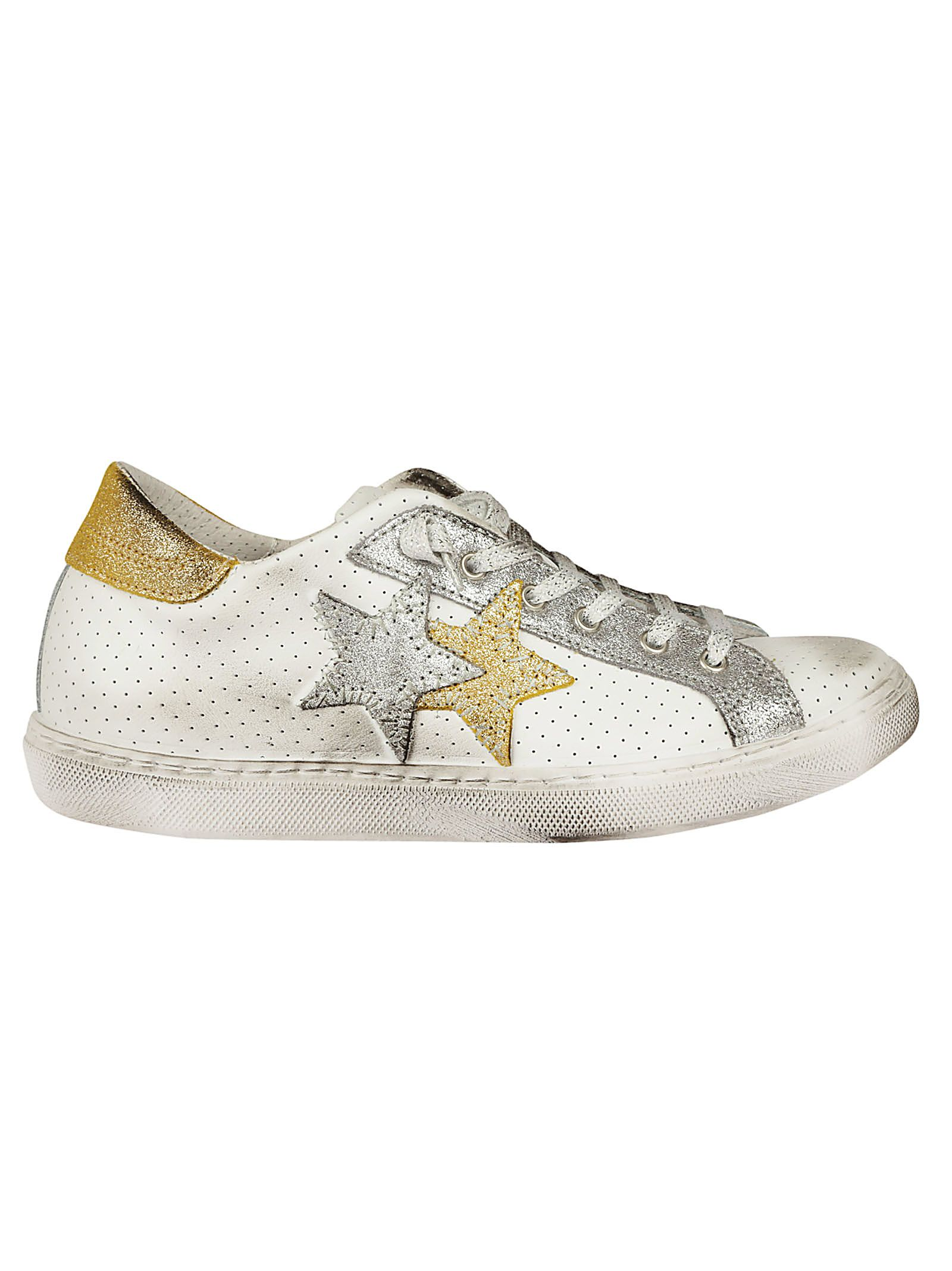 2star female 2star perforated sneakers