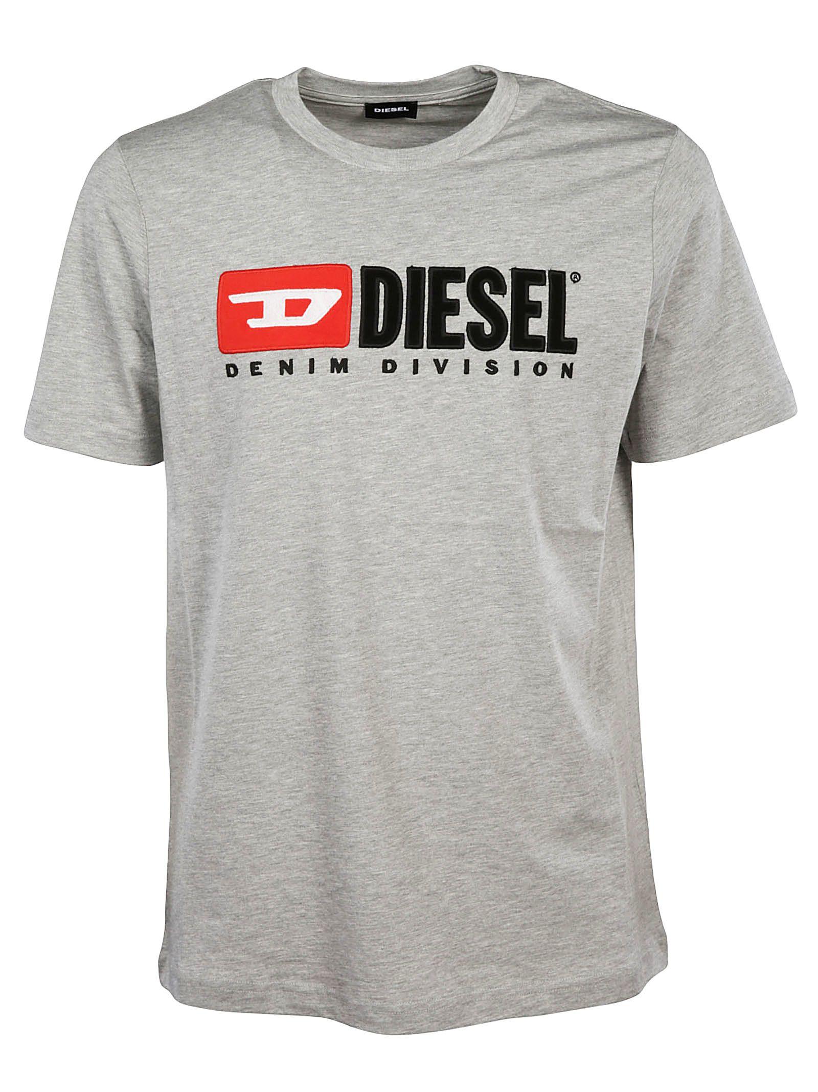Diesel Logo Appliqué T-shirt