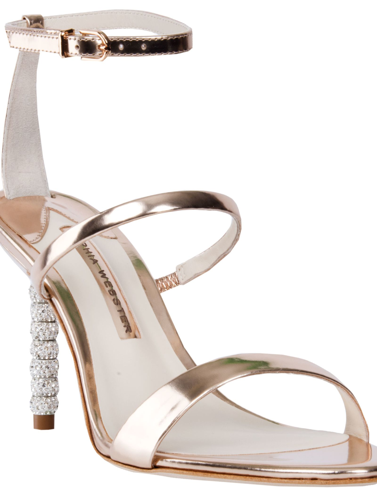 Rosalind Crystal sandals - Nude & Neutrals Sophia Webster DDxbcAvay
