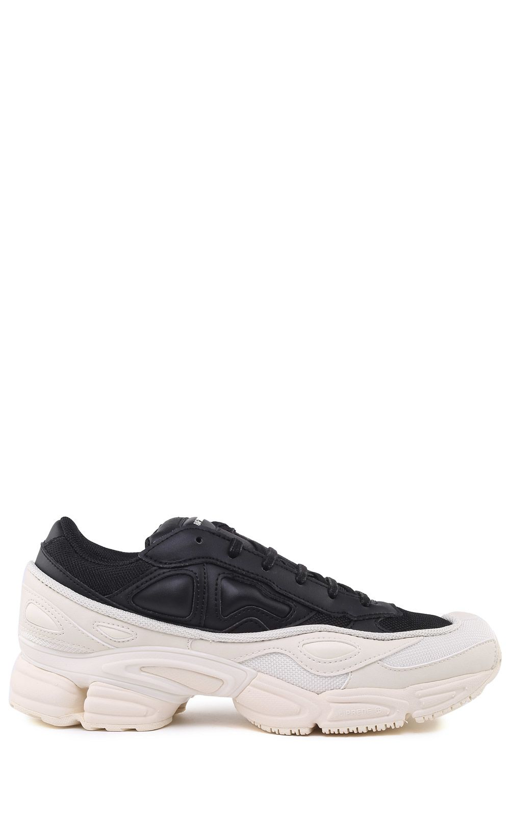 Ozweego Mesh And Leather Sneakers, Nero