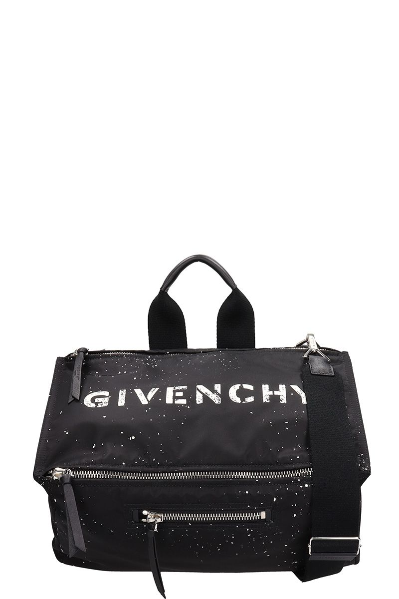 3b6dca677cad Givenchy Black Nylon Pandora-Messenger Bag