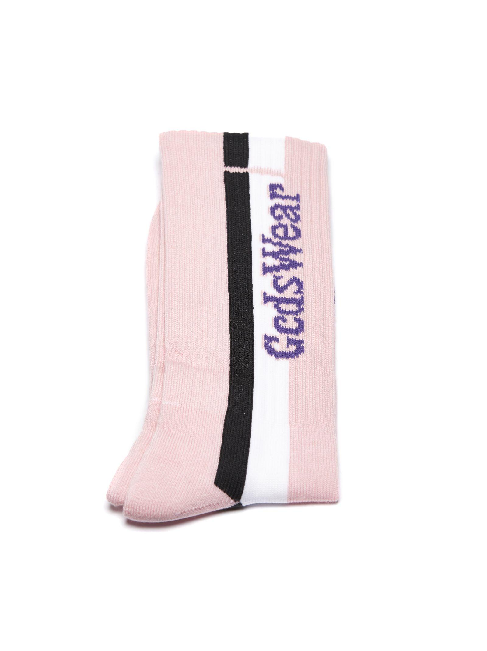 Gcds Logo Stripe Socks