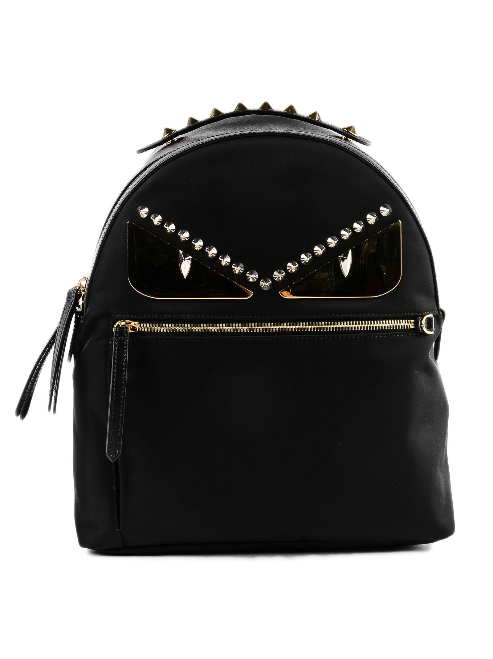 5ad441b549 Fendi Bag Bugs Backpack In Kur Nero