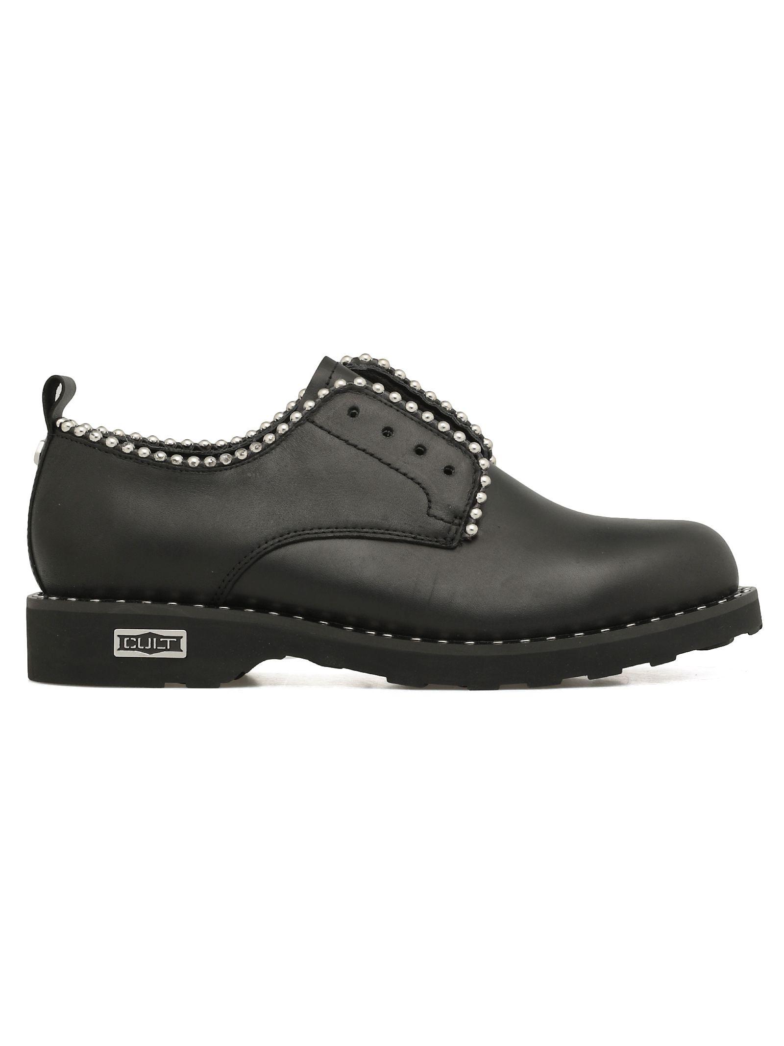 CULT Zeppelin Low Lace-Up Shoe in Black