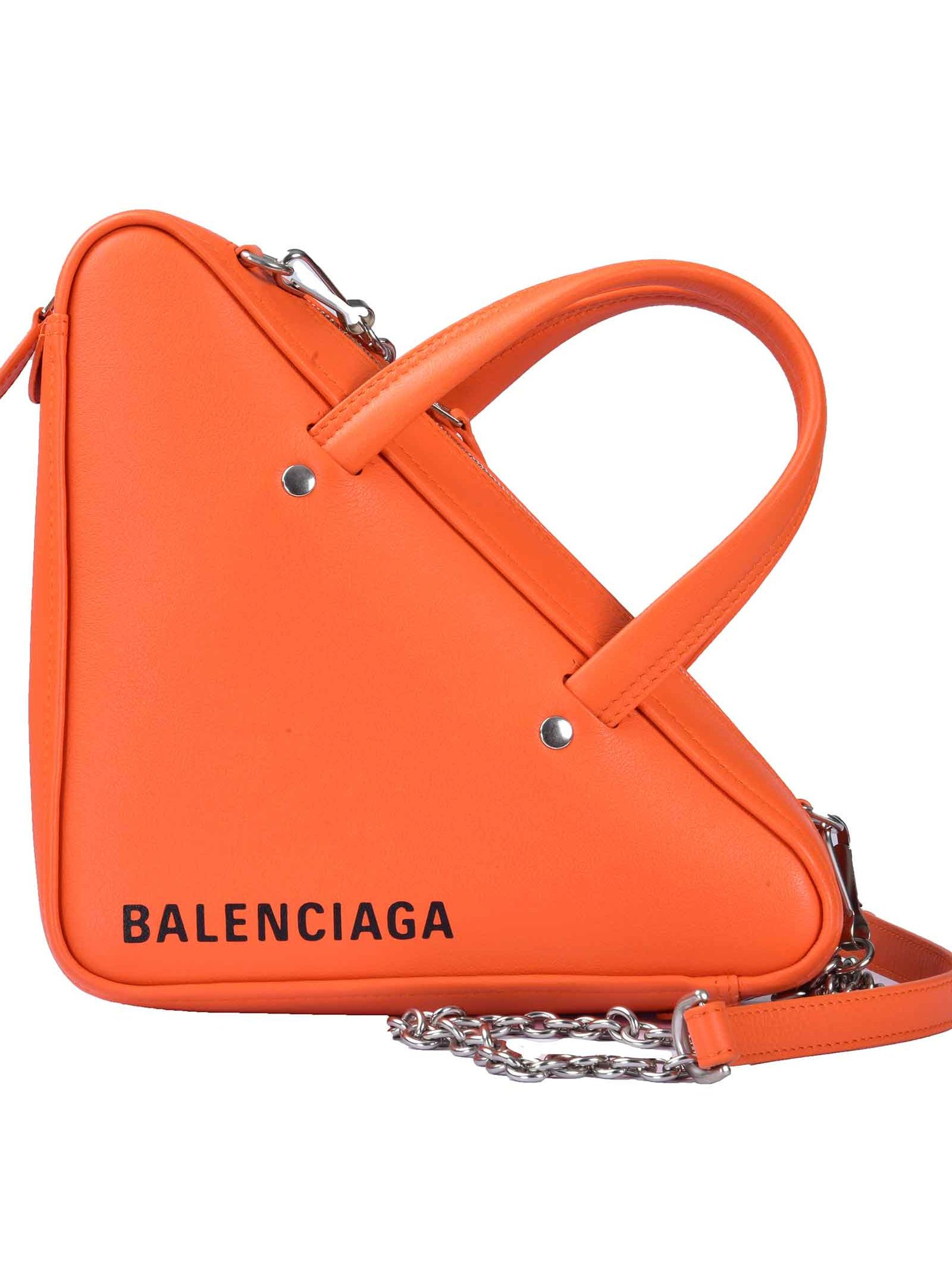 balenciaga -  Xs Triangle Shoulder Bag