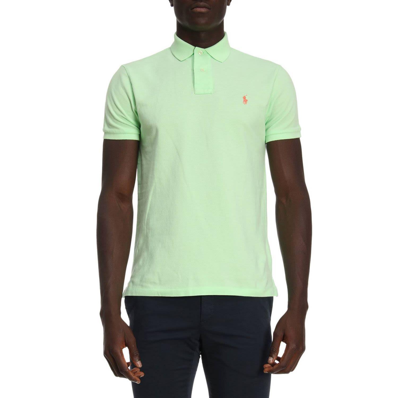 Polo Ralph Lauren T Shirt T Shirt Men In Lime Modesens