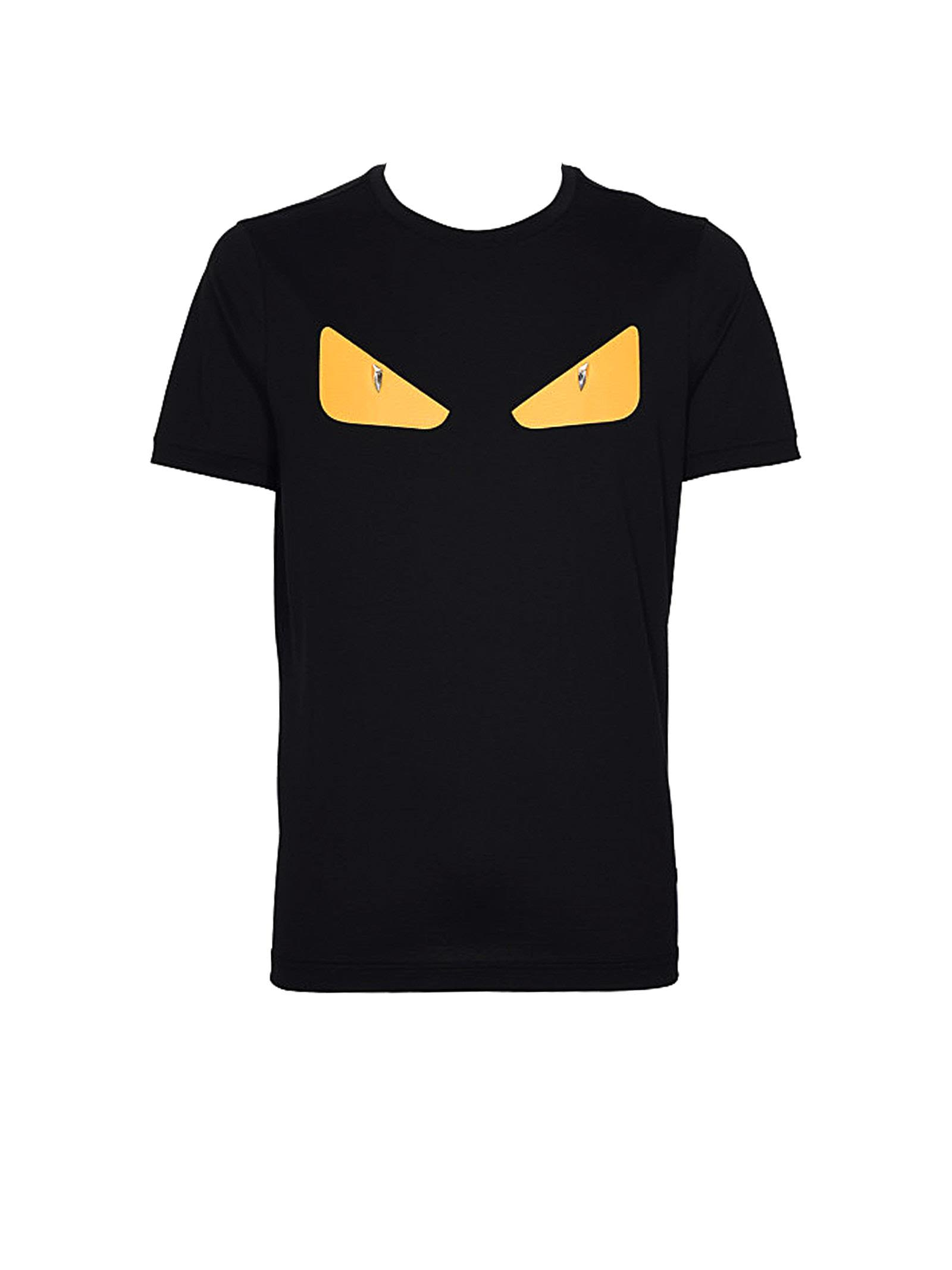 d42487c12bcb Fendi Black T-Shirt In Nero
