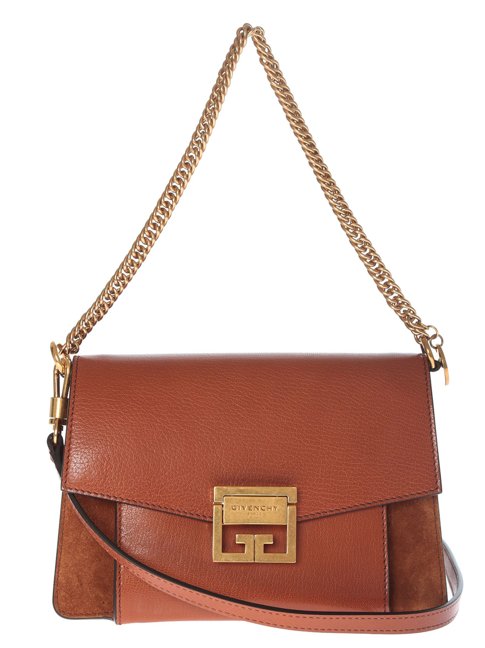 d64cfed2c3 Givenchy Small Gv3 Shoulder Bag In Tabacco