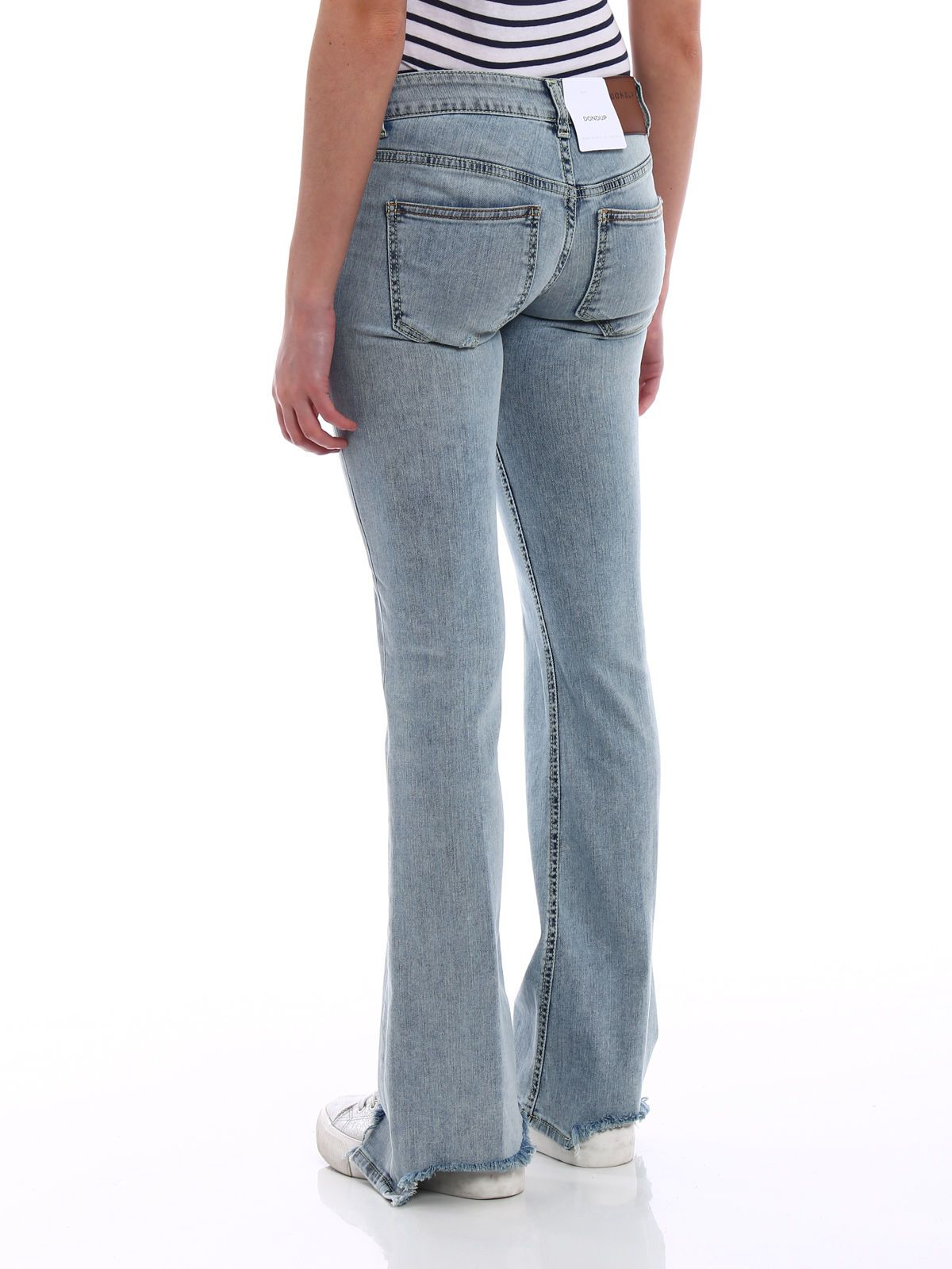 Jeans On Sale, White, Cotton, 2017, 25 26 28 Dondup