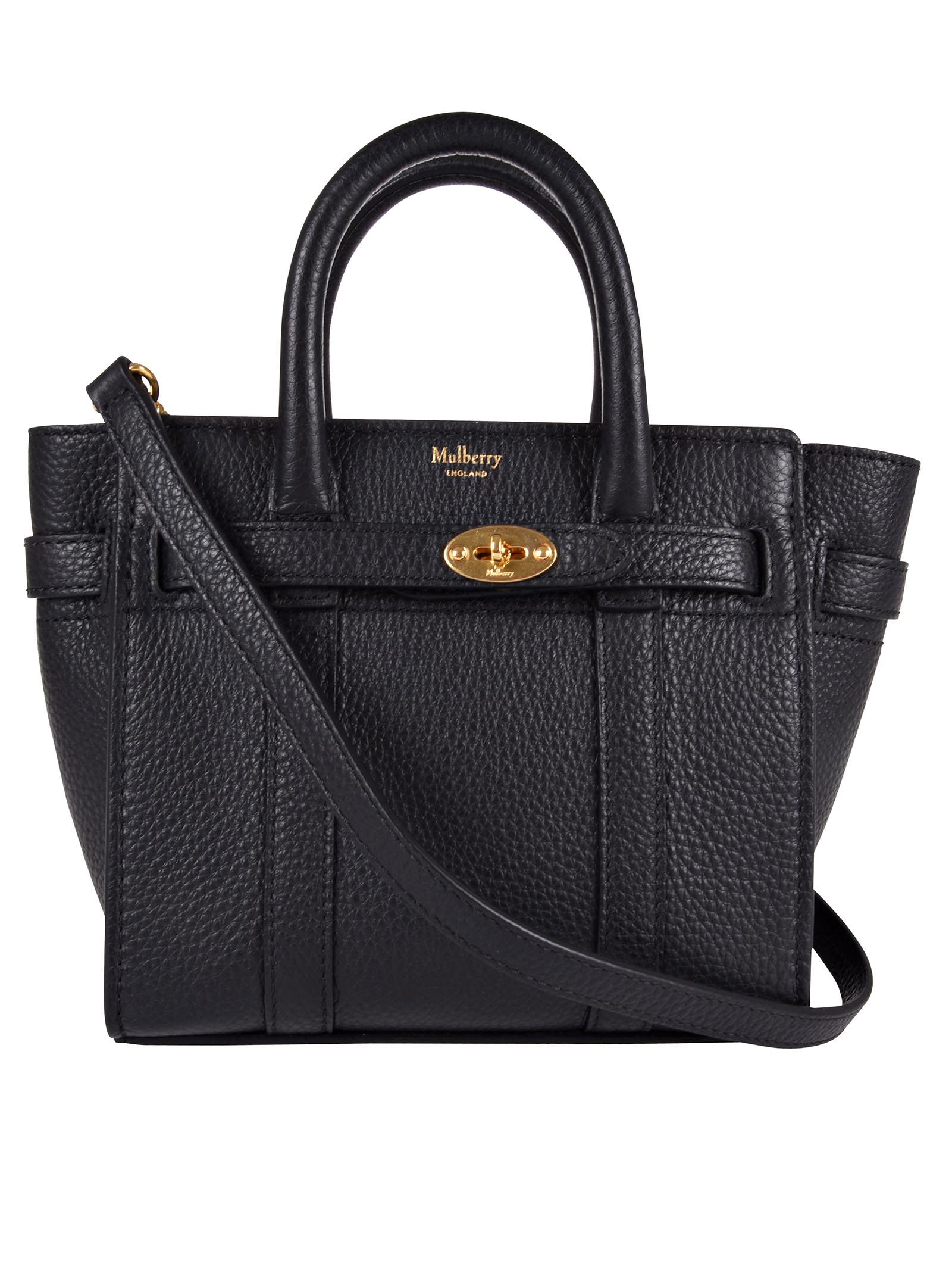 8e108abaa537 ... Mulberry Micro Zipped Bayswater Bag - Ablack ... finest selection c28da  323c5  Mulberry Shoulder ...