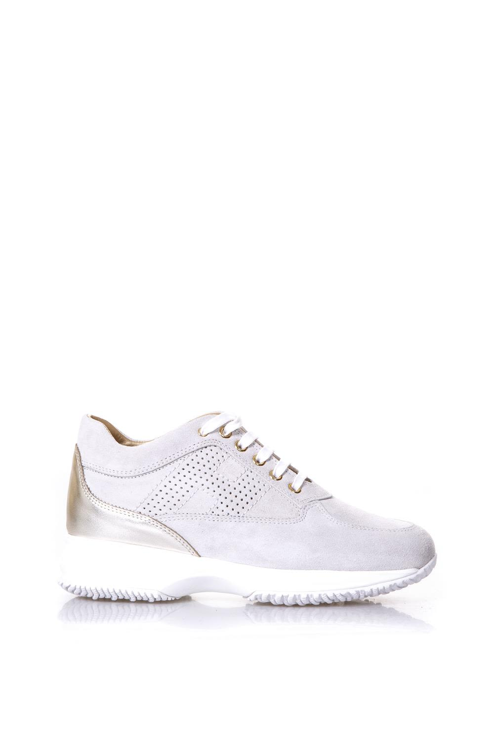 Sale 2018 New Looking For For Sale Hogan Interactive Beige Suede & Leather Sneakers qnPYu