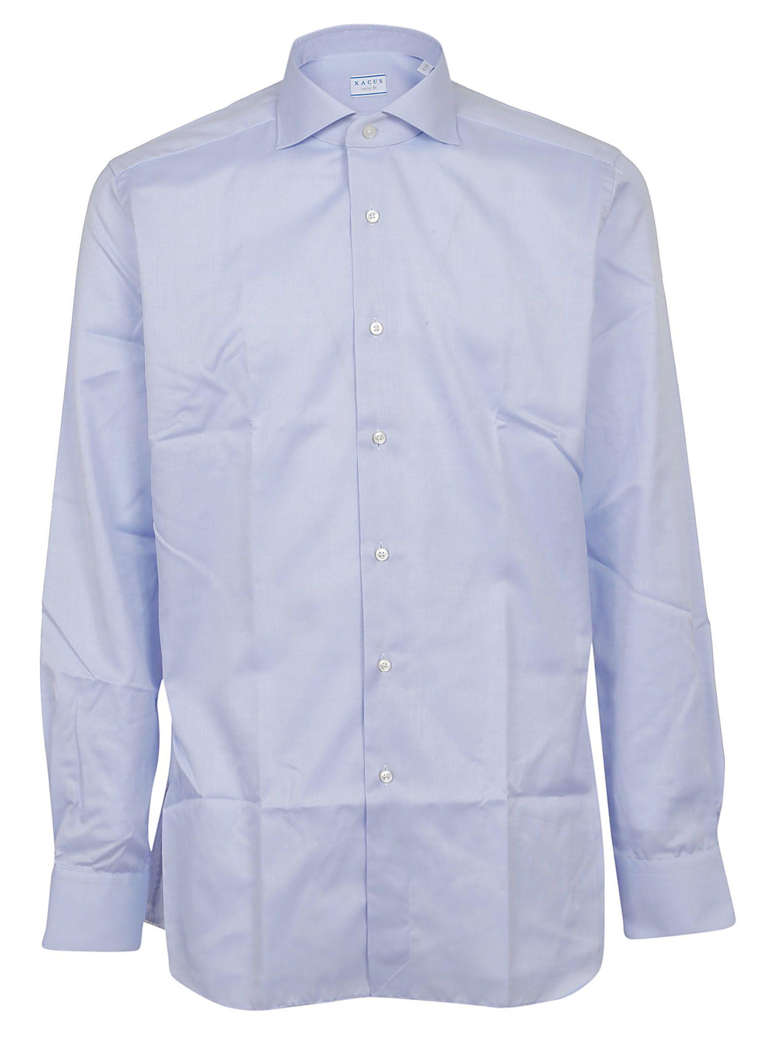 XACUS Textured Button Shirt in 002