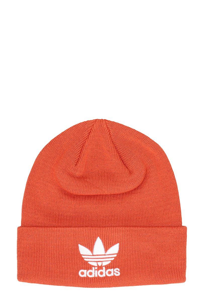 Adidas Originals Cappello In Lana Arancione In Orange  38b2dcea27d1