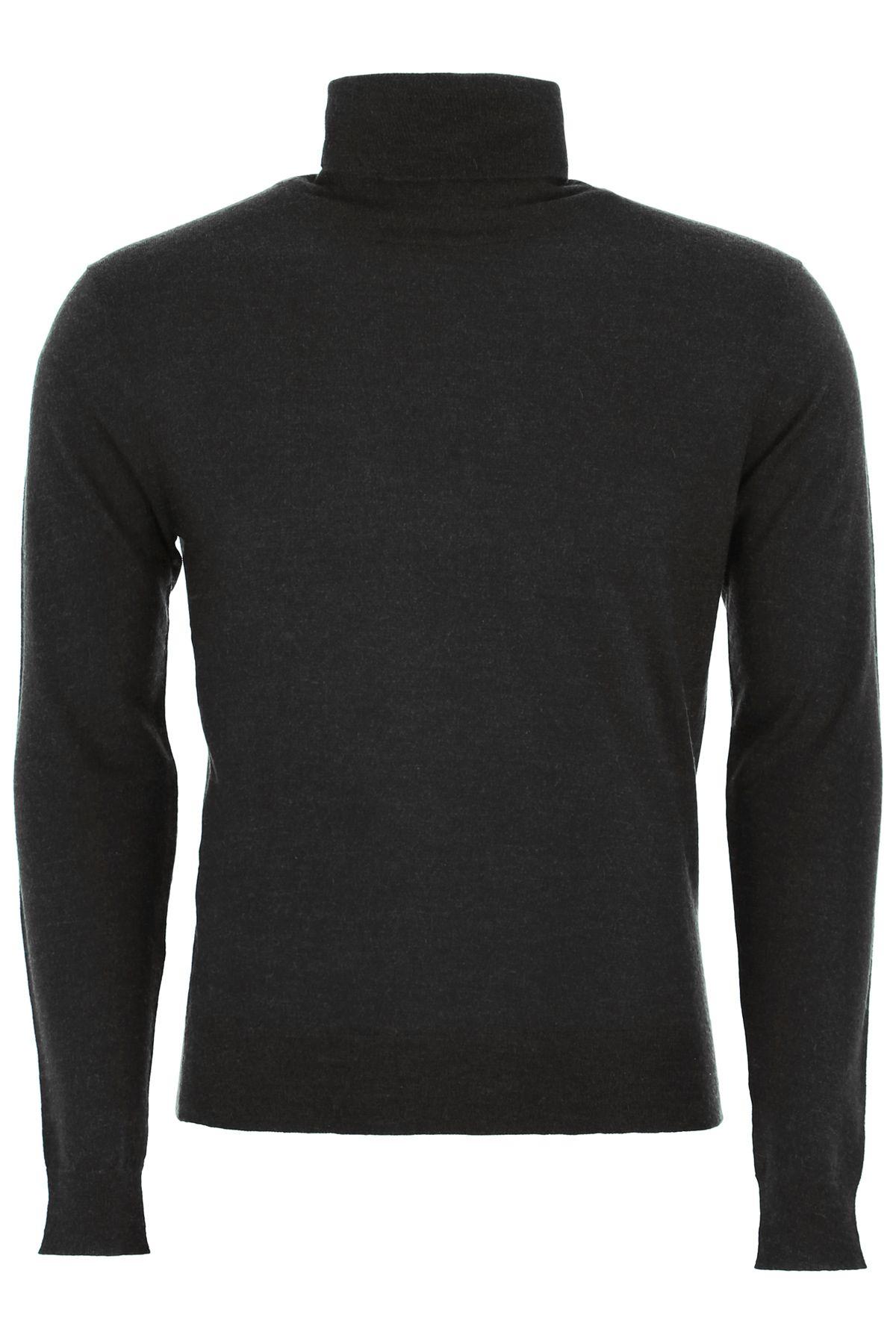 CC COLLECTION CORNELIANI Cashmere Pullover in Antracite Grey
