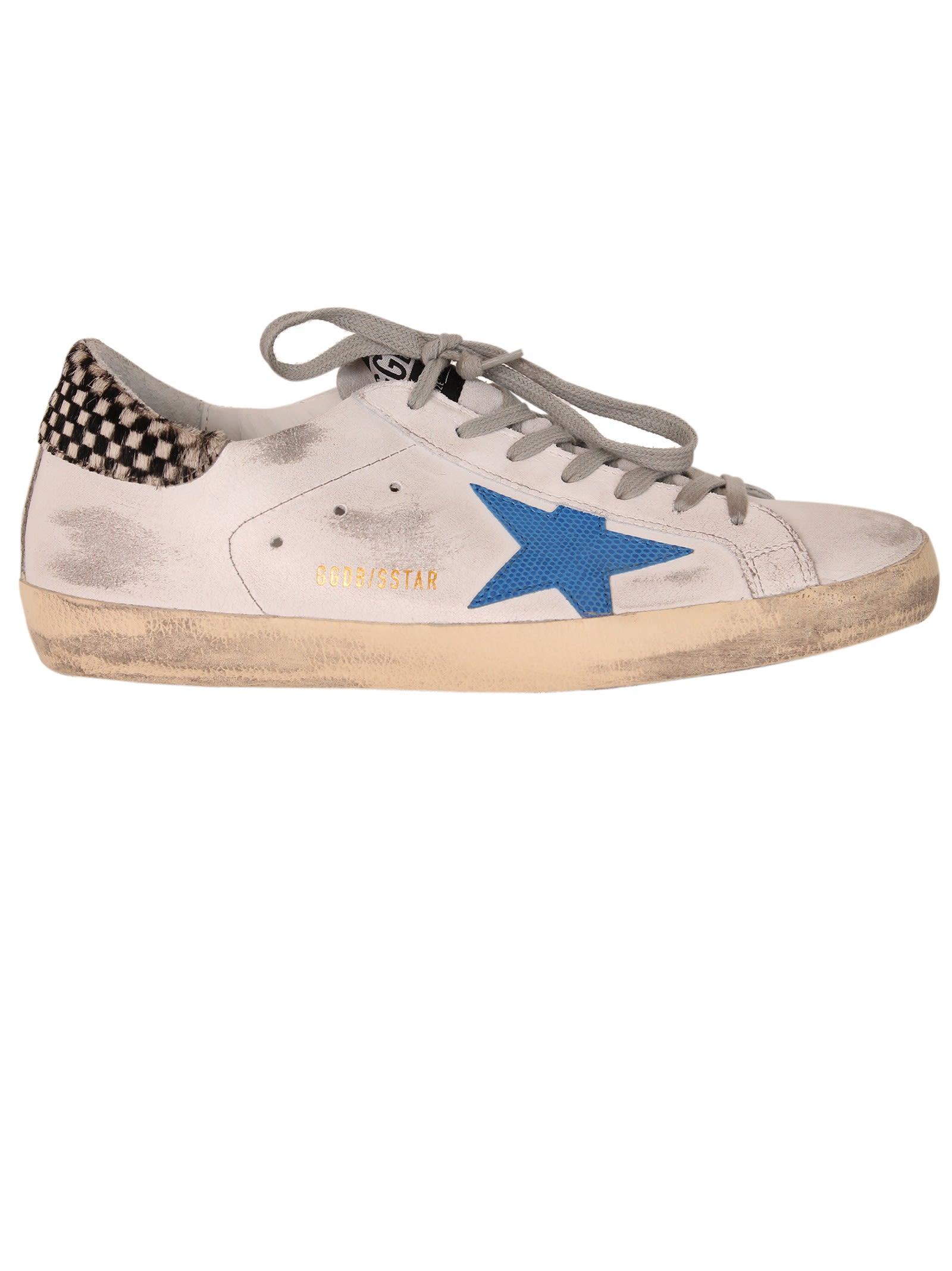 Golden Goose & Crack Check Superstar Sneakers z87oE7n6