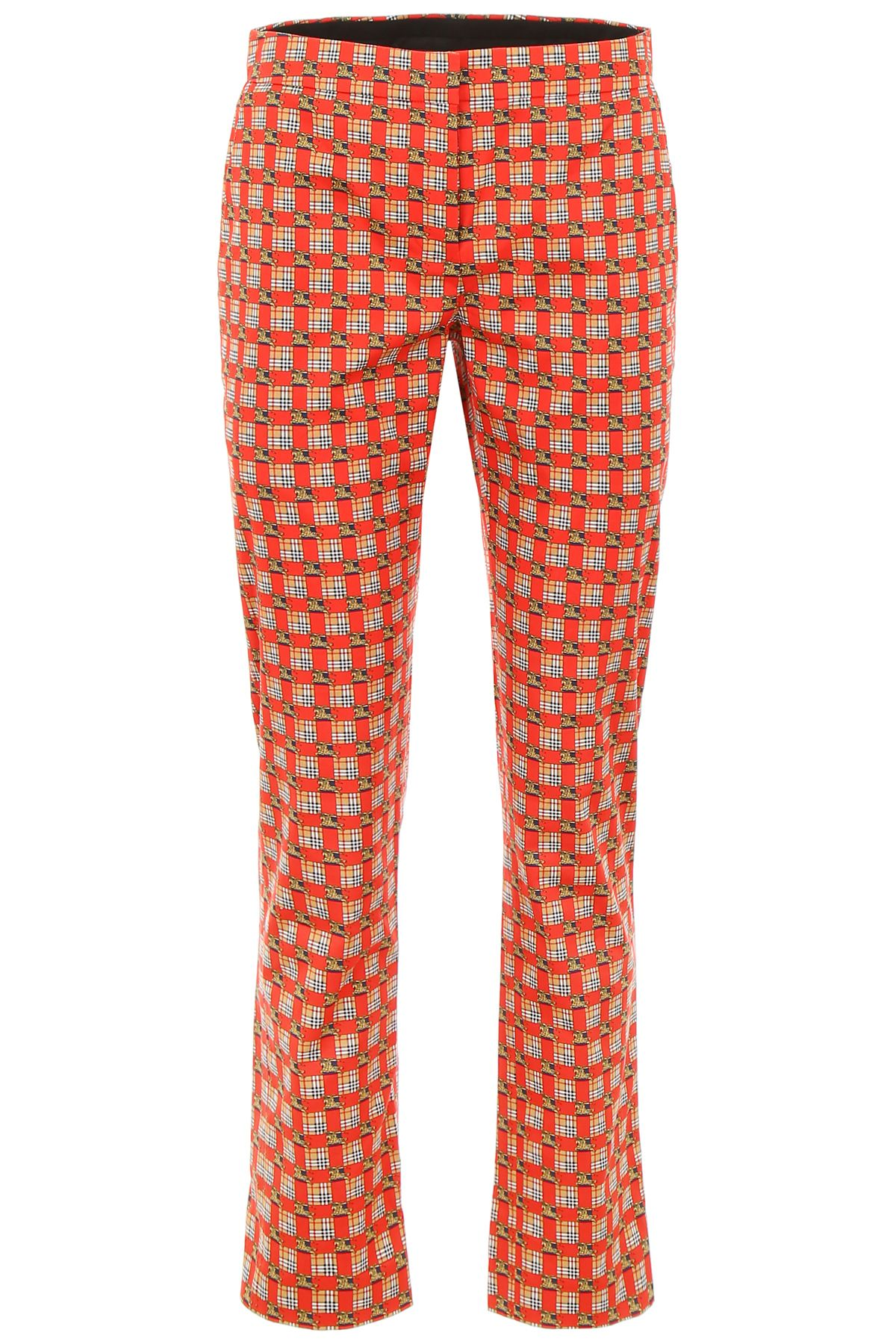 Hanover Trousers in Bright Red Ip Pat
