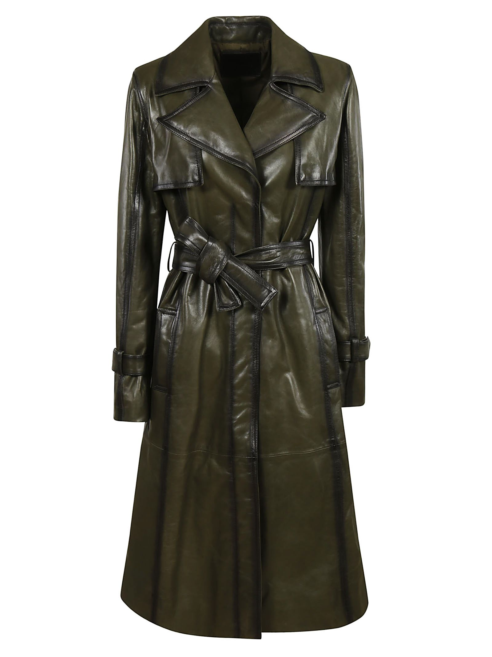 DROME AIRBRUSHED NAPPA TRENCH
