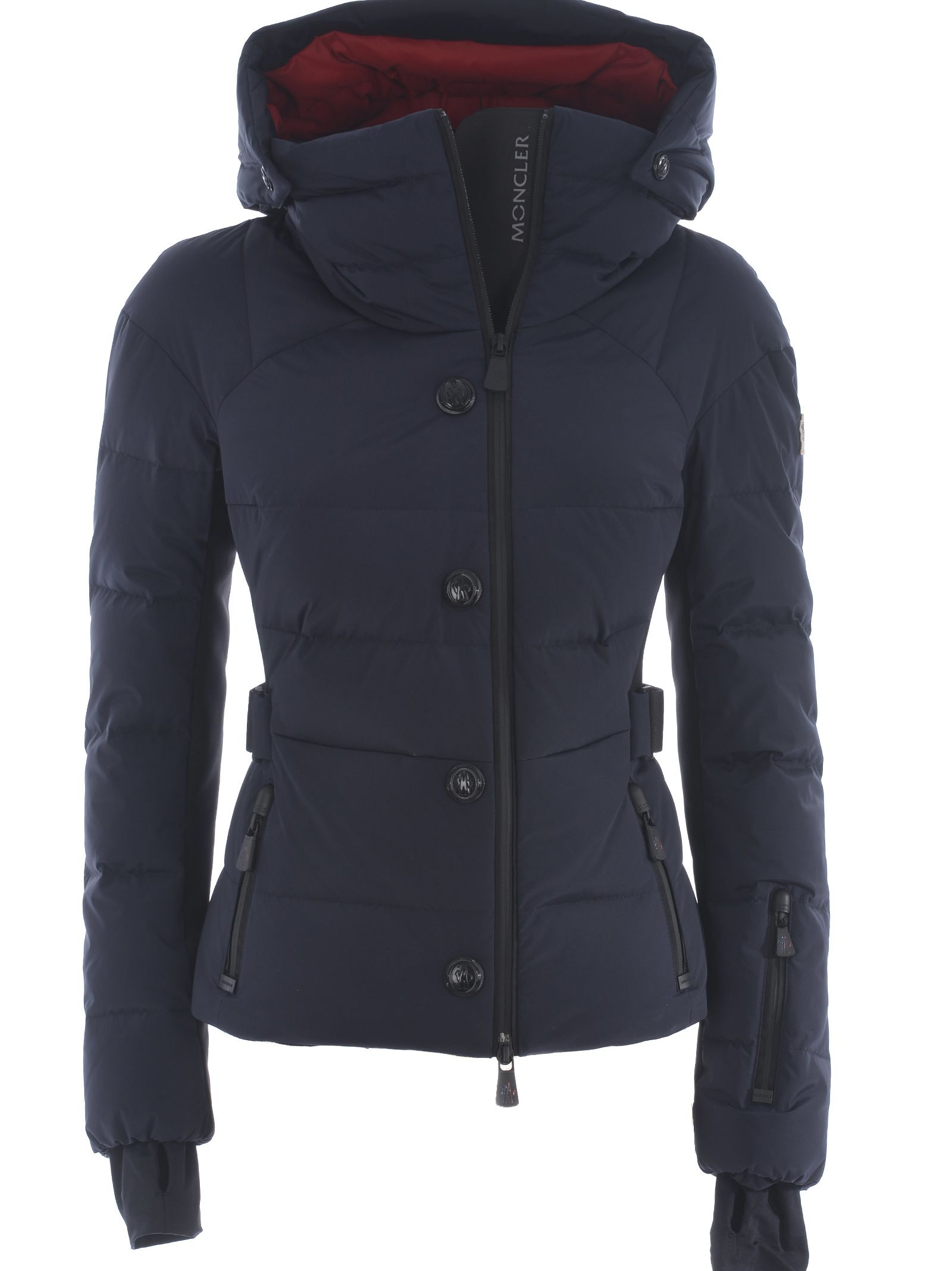 Moncler Grenoble Buttoned Down Jacket - Blu scuro ...