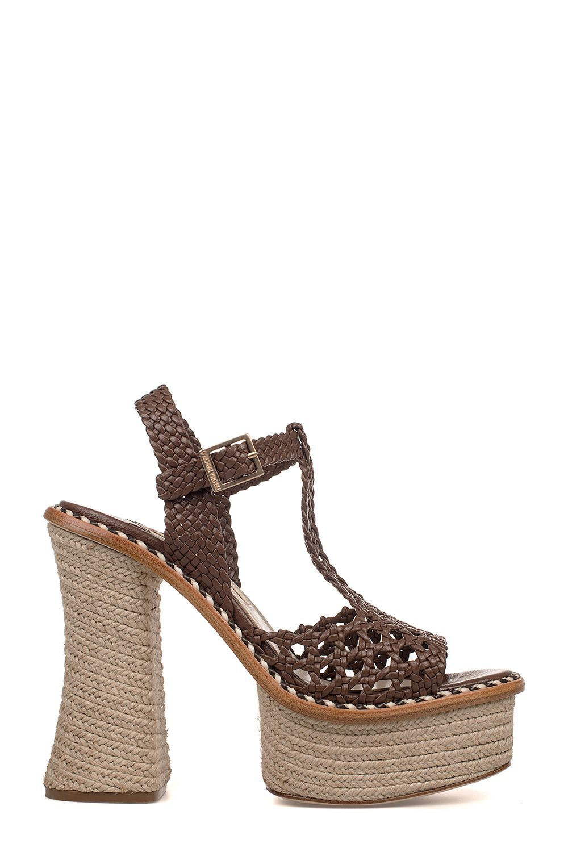 Paloma Barceló Saint Tropez Leather Heeled Sandal Buy Cheap Fake Comfortable Cheap Online New Styles Sale Online mqfgs