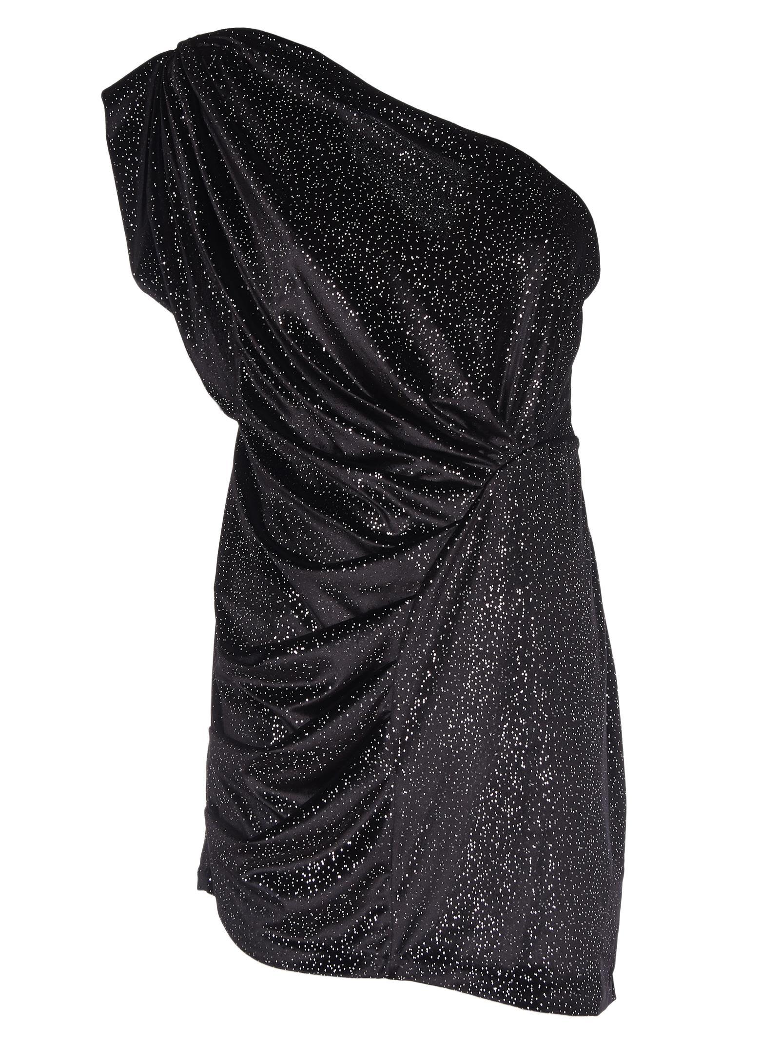 Attico Asymmetric Mini Dress