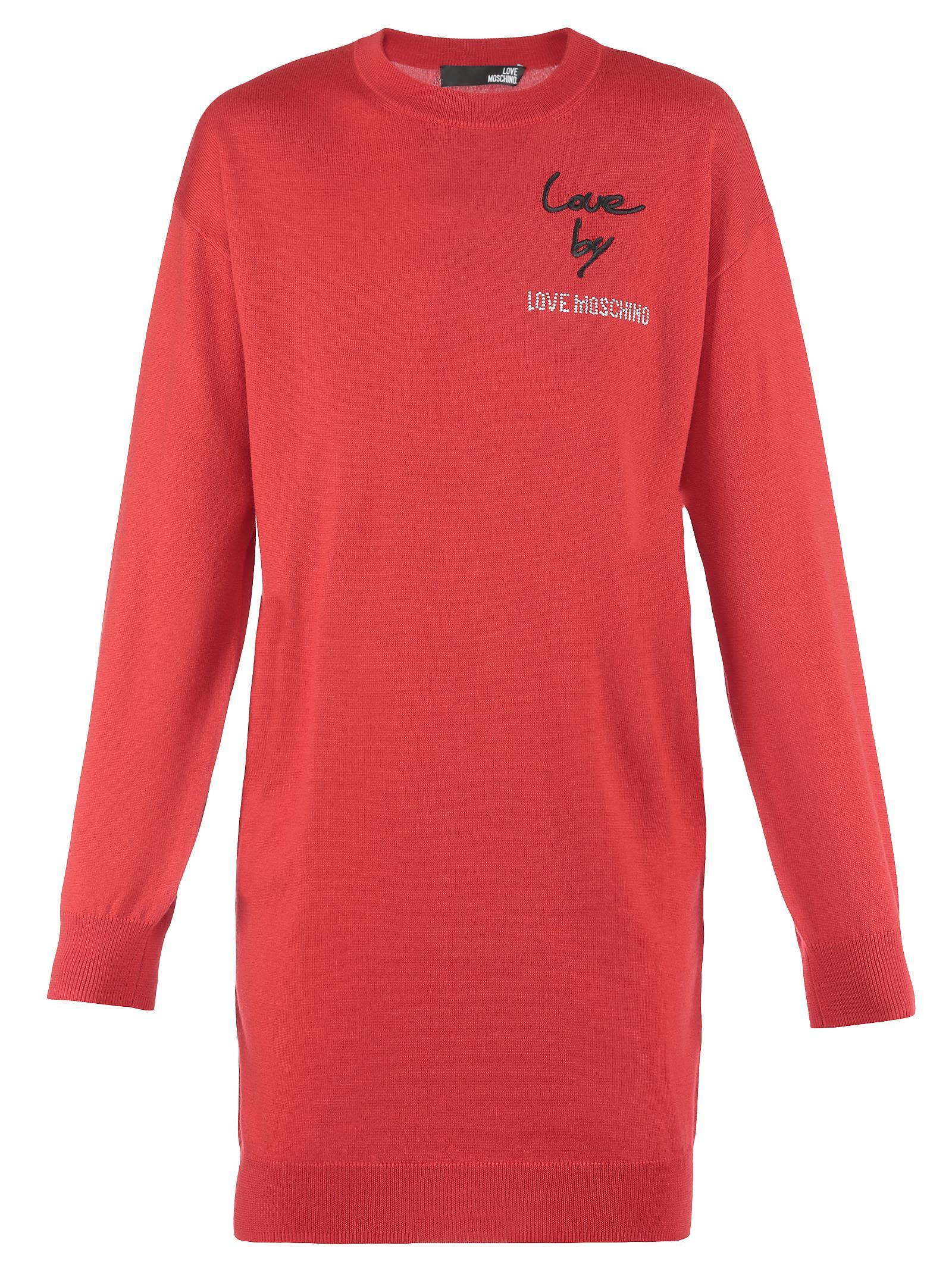 Love Moschino Wool Dress 10645601