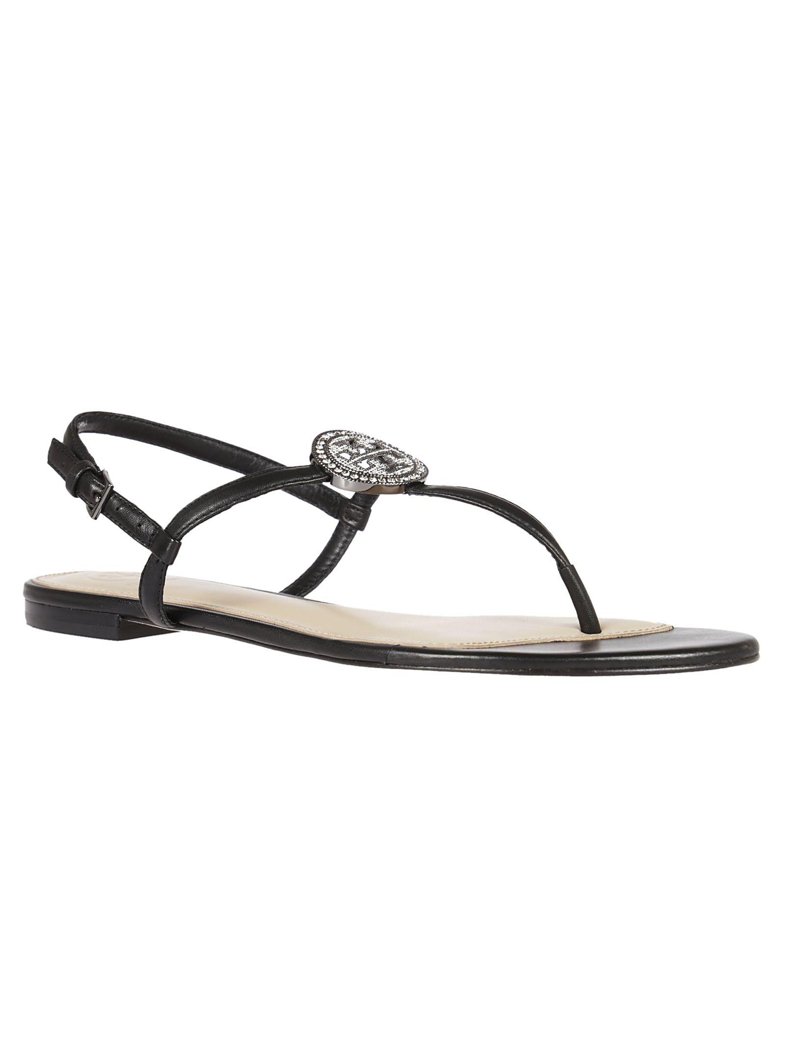 Tory Burch Liana flat sandals - Nero Aclaramiento Más Barata Muchos Colores PdqupBUU