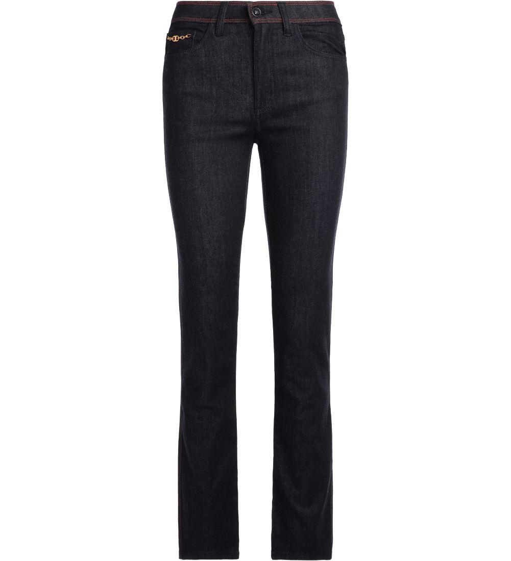 Tory Burch Laila Dark Blue Denim Jeans