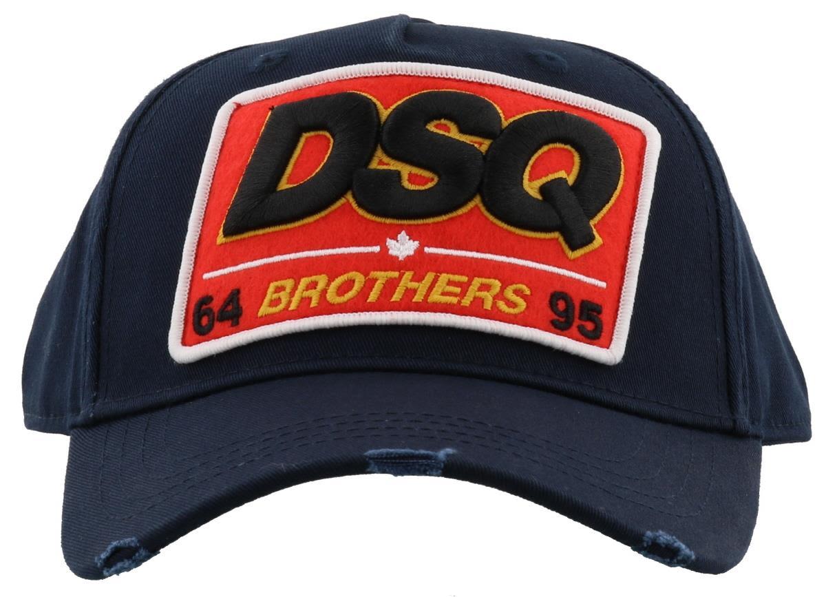 Dsquared2 Dsq Baseball Cap In Navy  6f80dca1de7