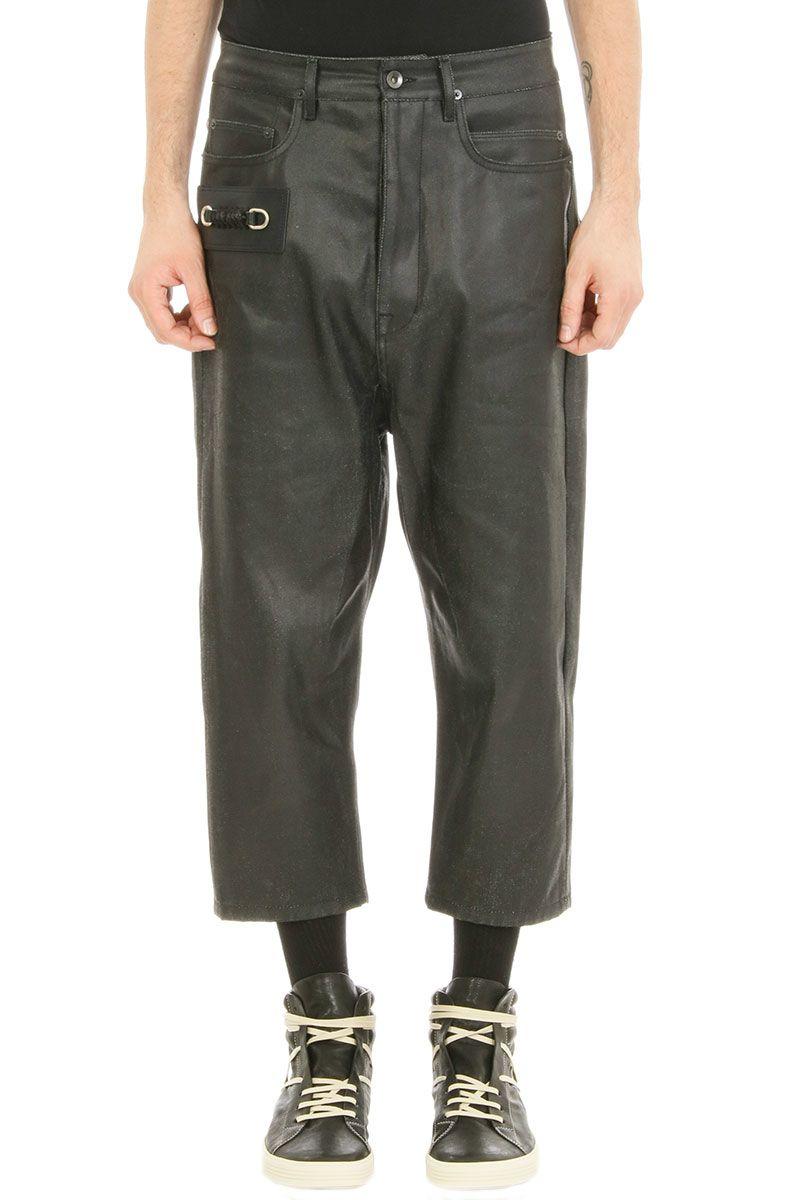 Rick Owens Keyring Astaire Black Denim Jeans 7864370