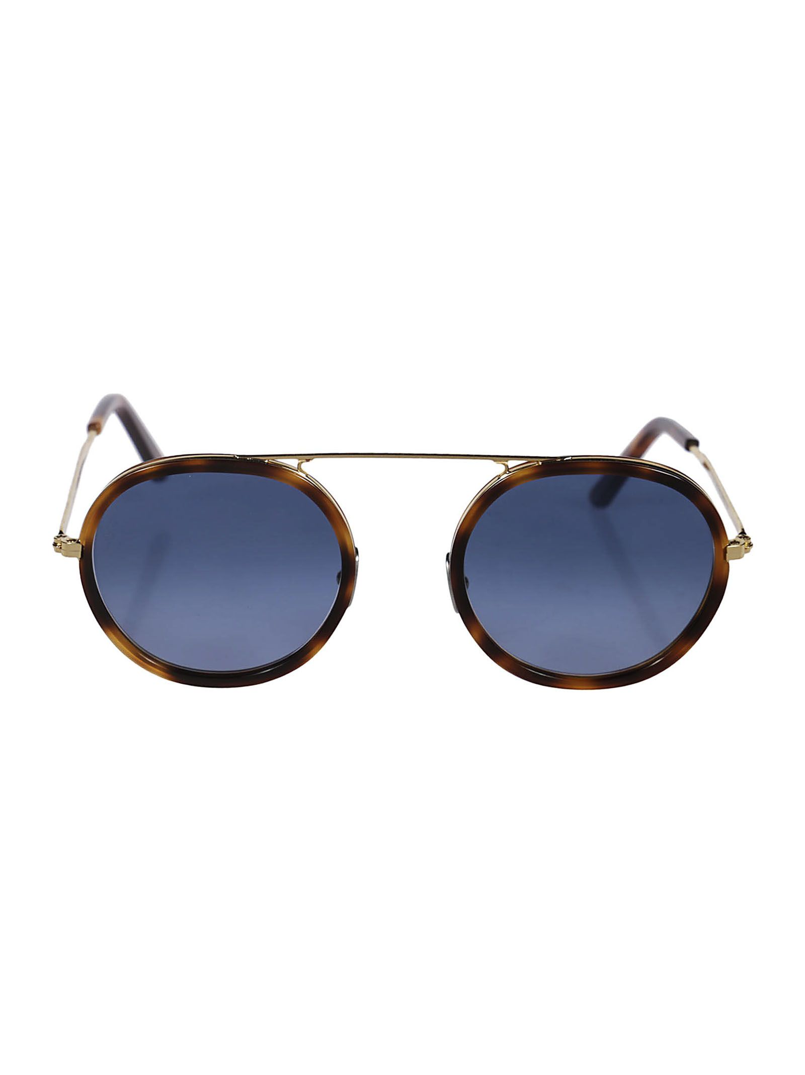 L.G.R Lgr Round Sunglasses in Gold/Havana