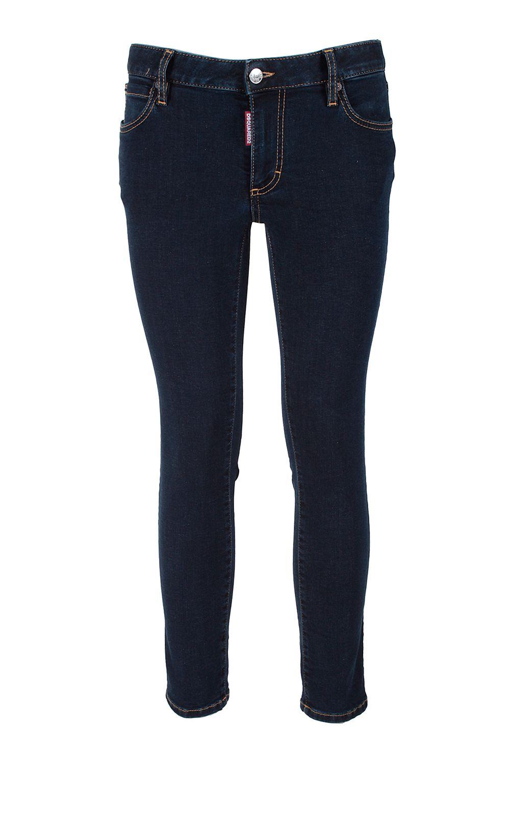 Twiggy cropped stretch denim jeans Dsquared2 5DI2Fl