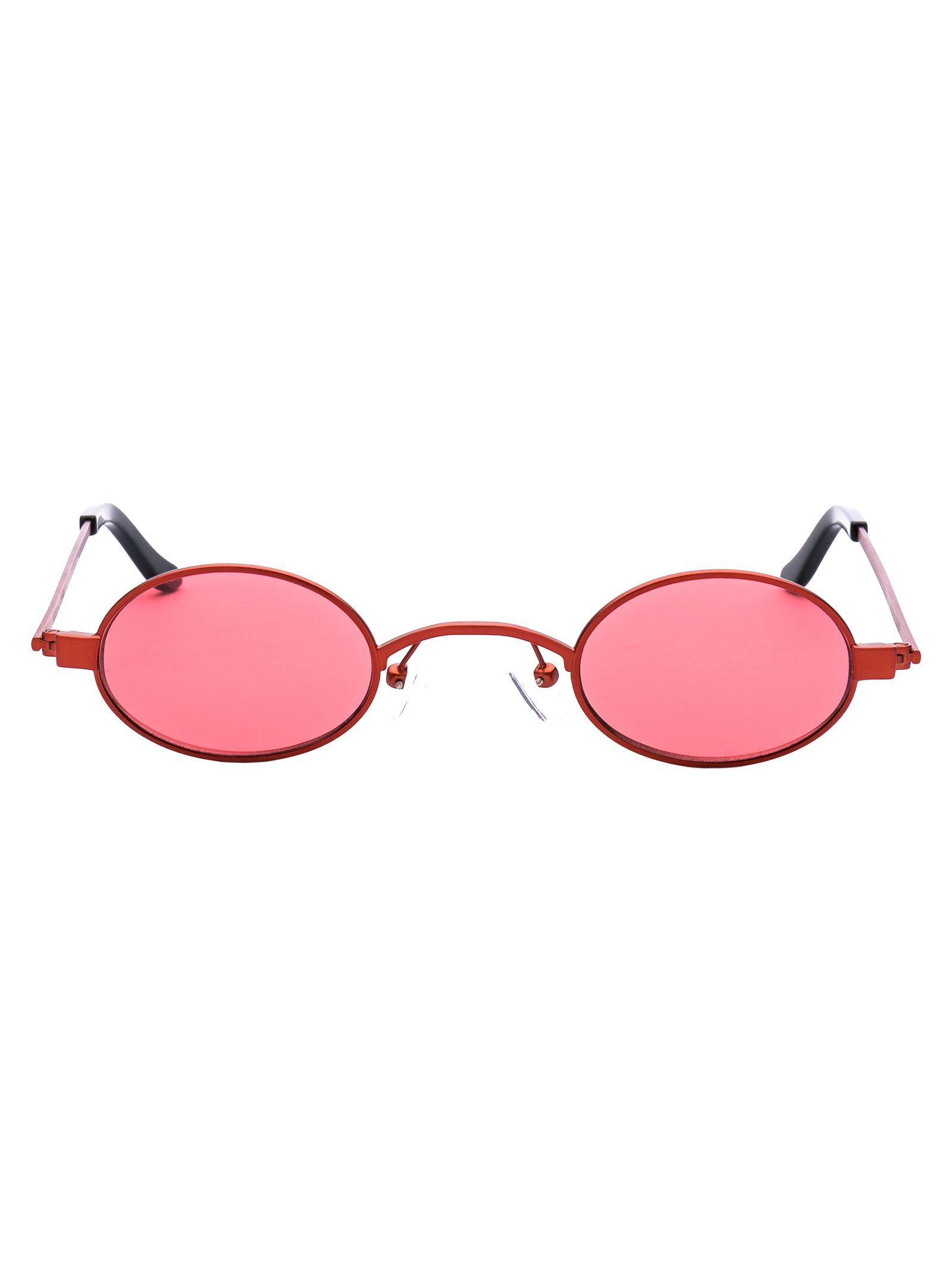 6882f8aa9e Roberi   Fraud Doris Sunglasses In Red