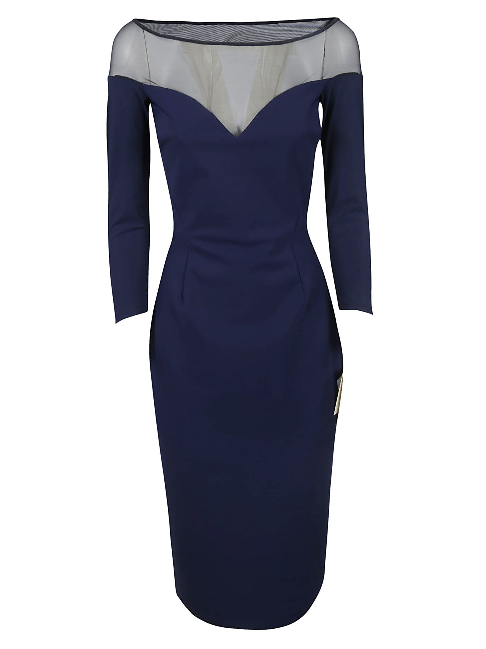 LA PETIT ROBE DI CHIARA BONI Viorika Dress in Dusk Blue