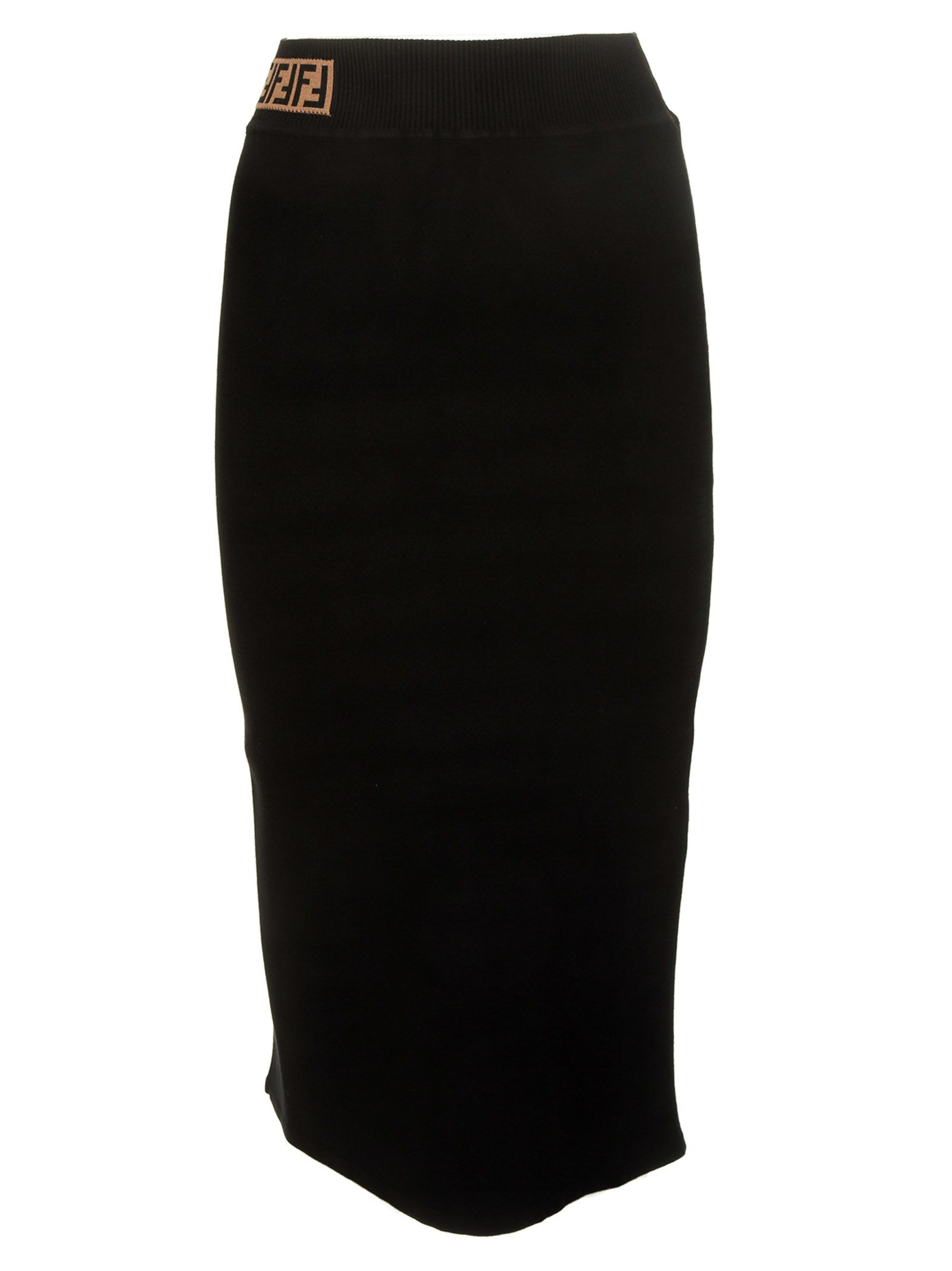Fendi Ff Pencil Skirt