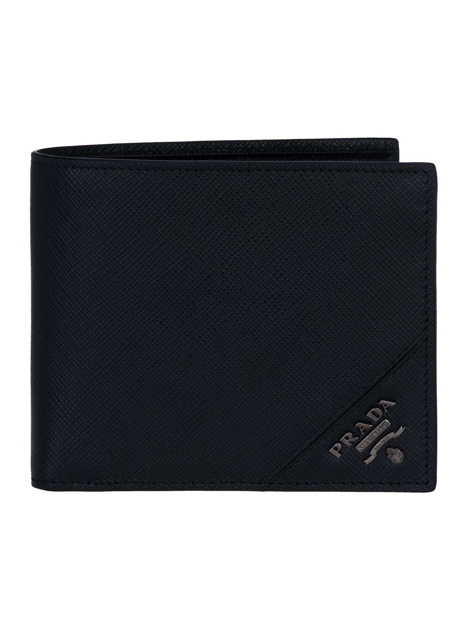 Prada Bifold Wallet Money Case Co Discount Nicekicks Exclusive Online Sale Brand New Unisex Online Online Cheap Price SxOMIr