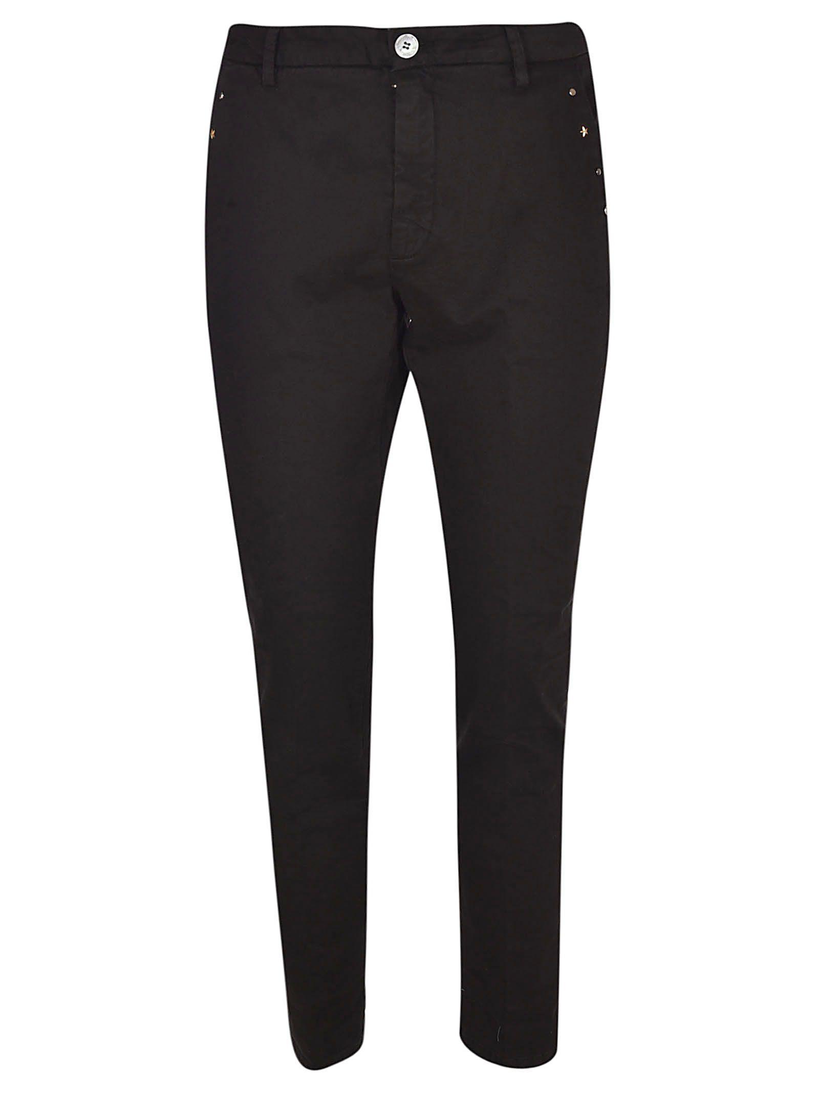 AGLINI Studded Trousers in Dir 11Gw
