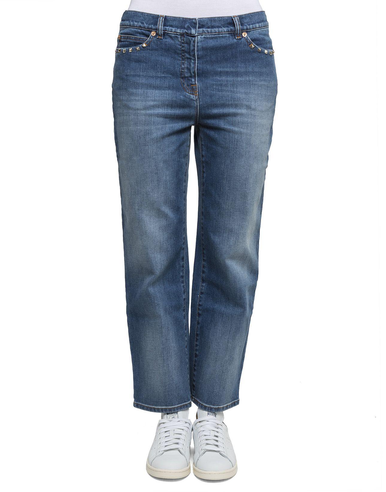 Light Blue Cotton Jeans 5553105