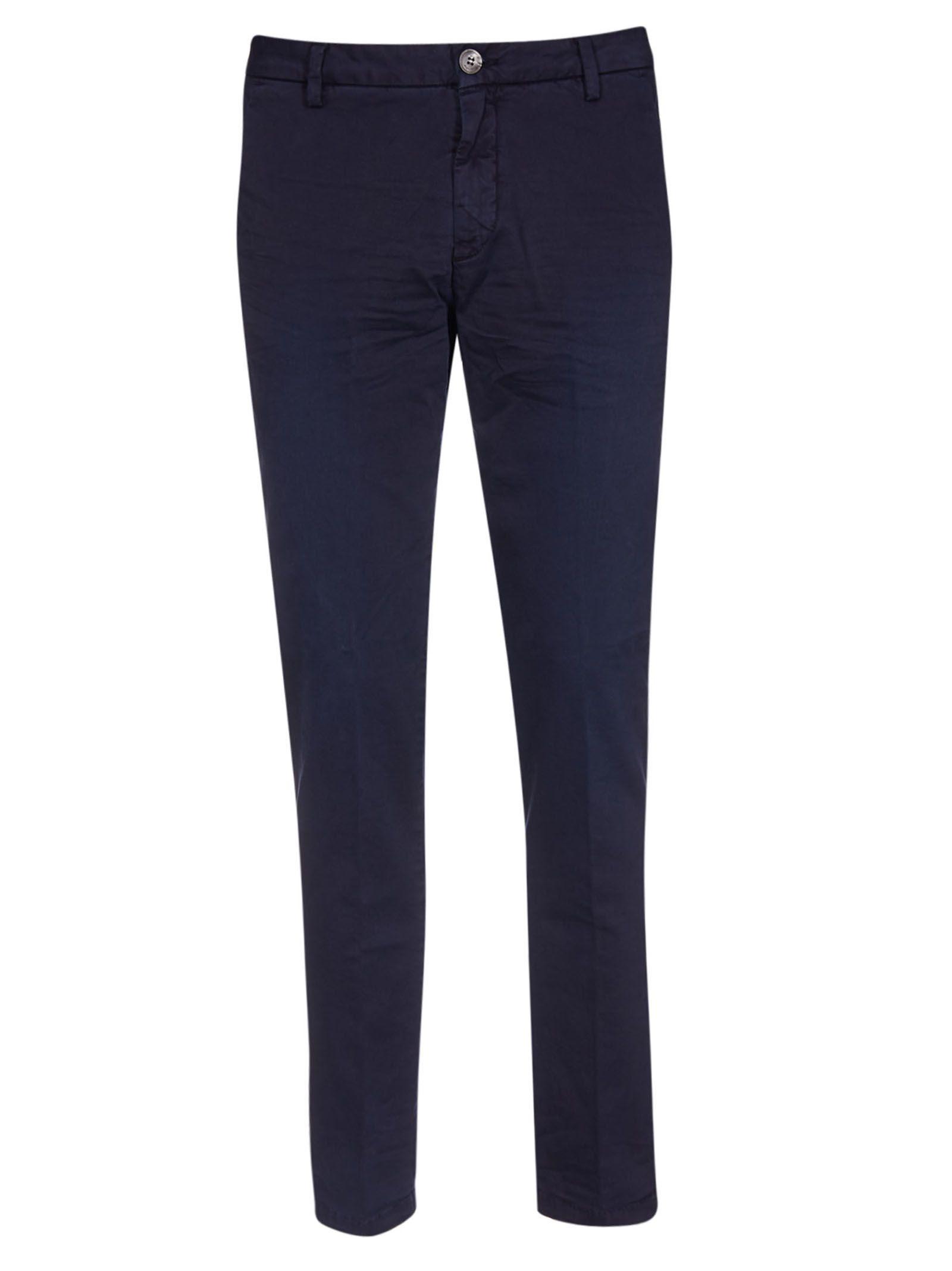 AGLINI Edgard Trousers in Blue
