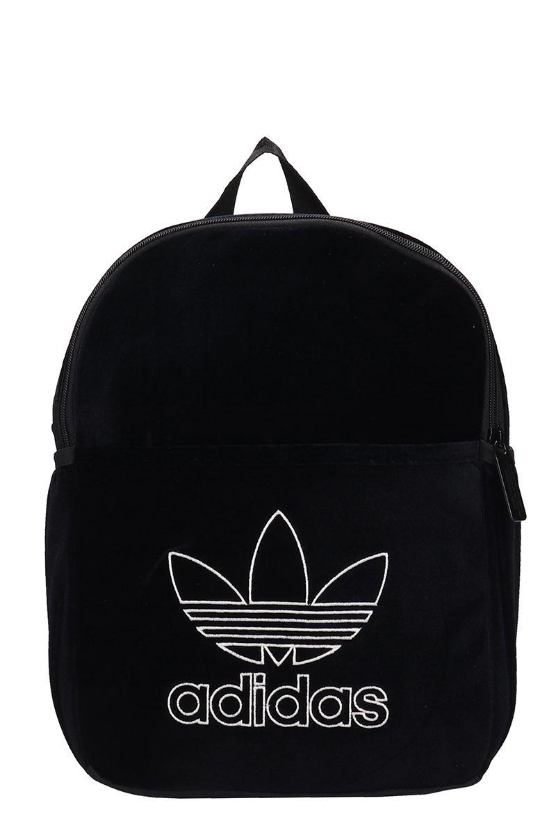 f05ff6d7b318 Adidas Originals Mini Classic Black Velvet Backpack